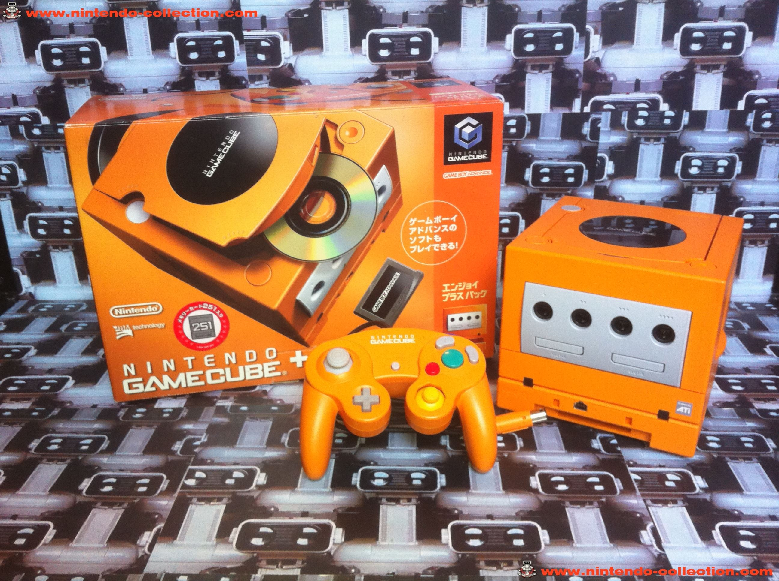 www.nintendo-collection.com - Gamecube  Spice Orange Gameboy Player Edition Japanese Japan Japonaise