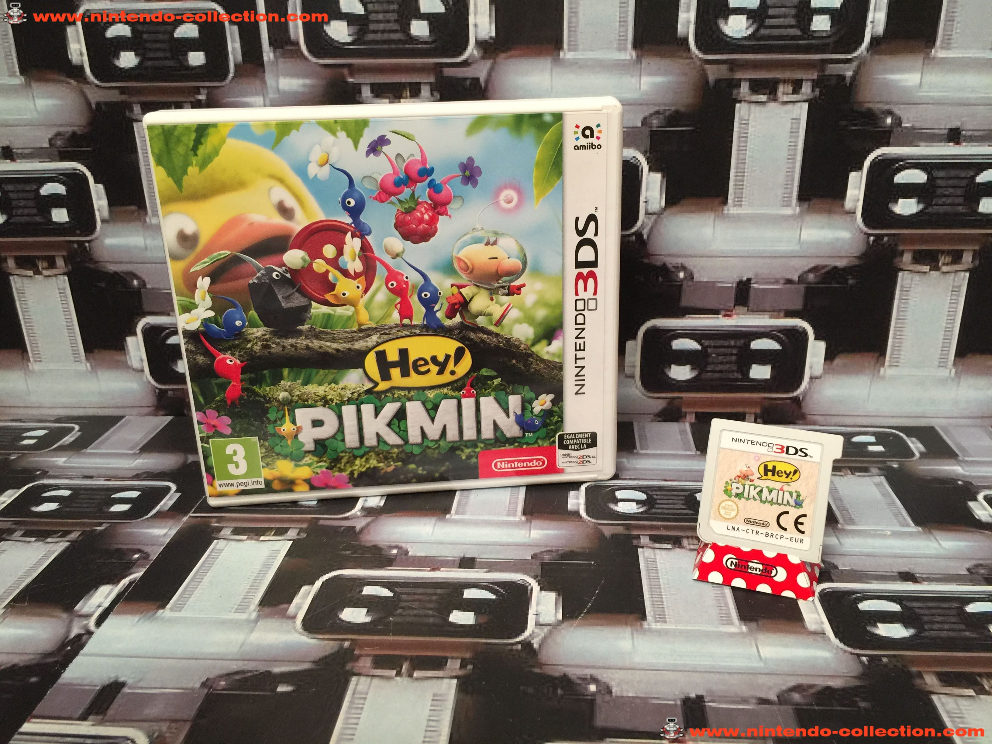 www.nintendo-collection.com - Nintendo 3DS Jeux Game Hey! Pikmin