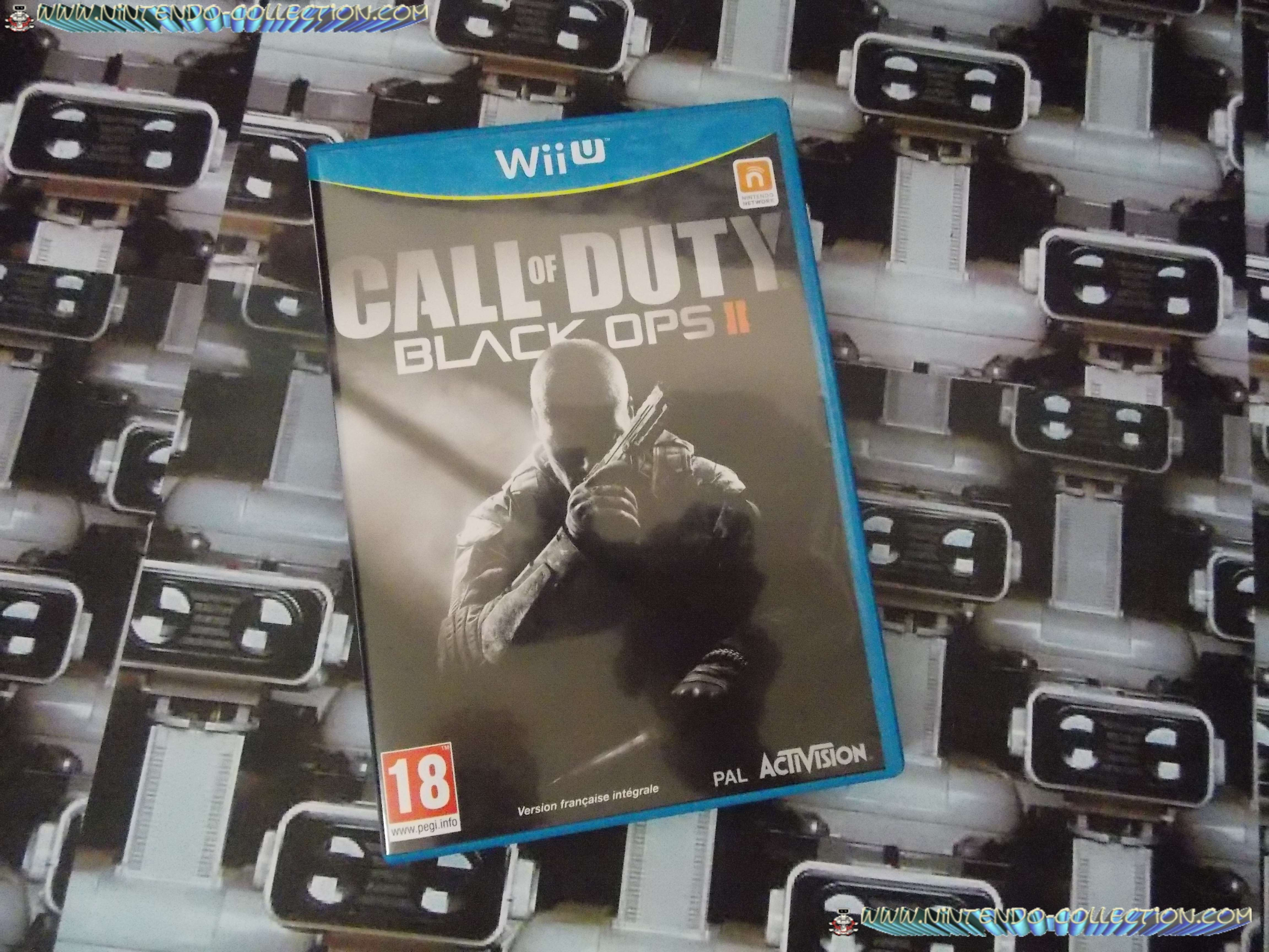 www.nintendo-collection.com - Wii U Game Jeu Call Of Duty Black Ops 2