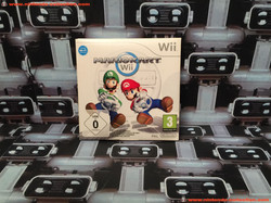 www.nintendo-collection.com - Nintendo Wii Game Jeux Mario Kart Small Box Pack Edition Euro