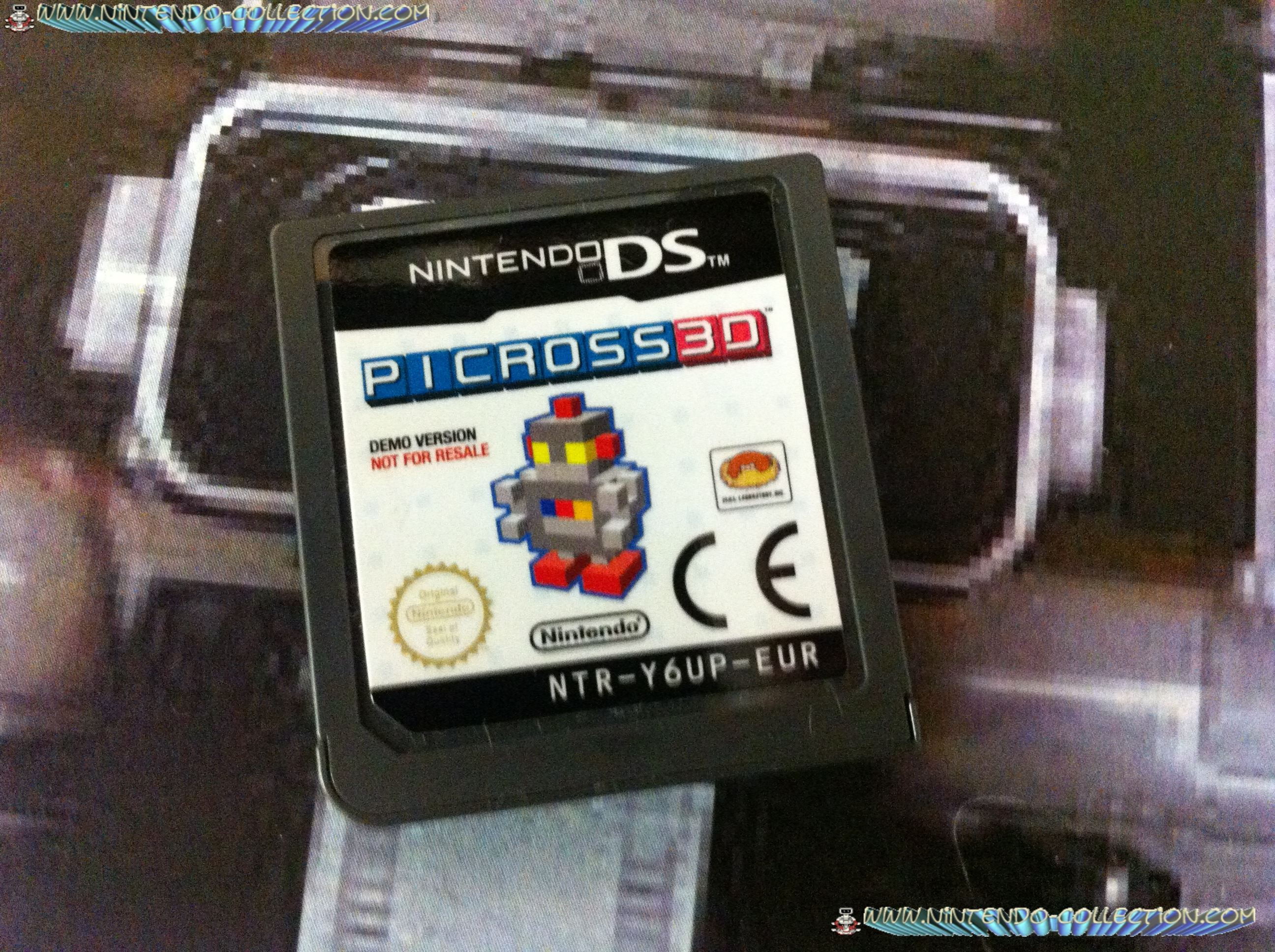 www.nintendo-collection.com - Demo DS 3 DS - Not For Resale - Picross 3D