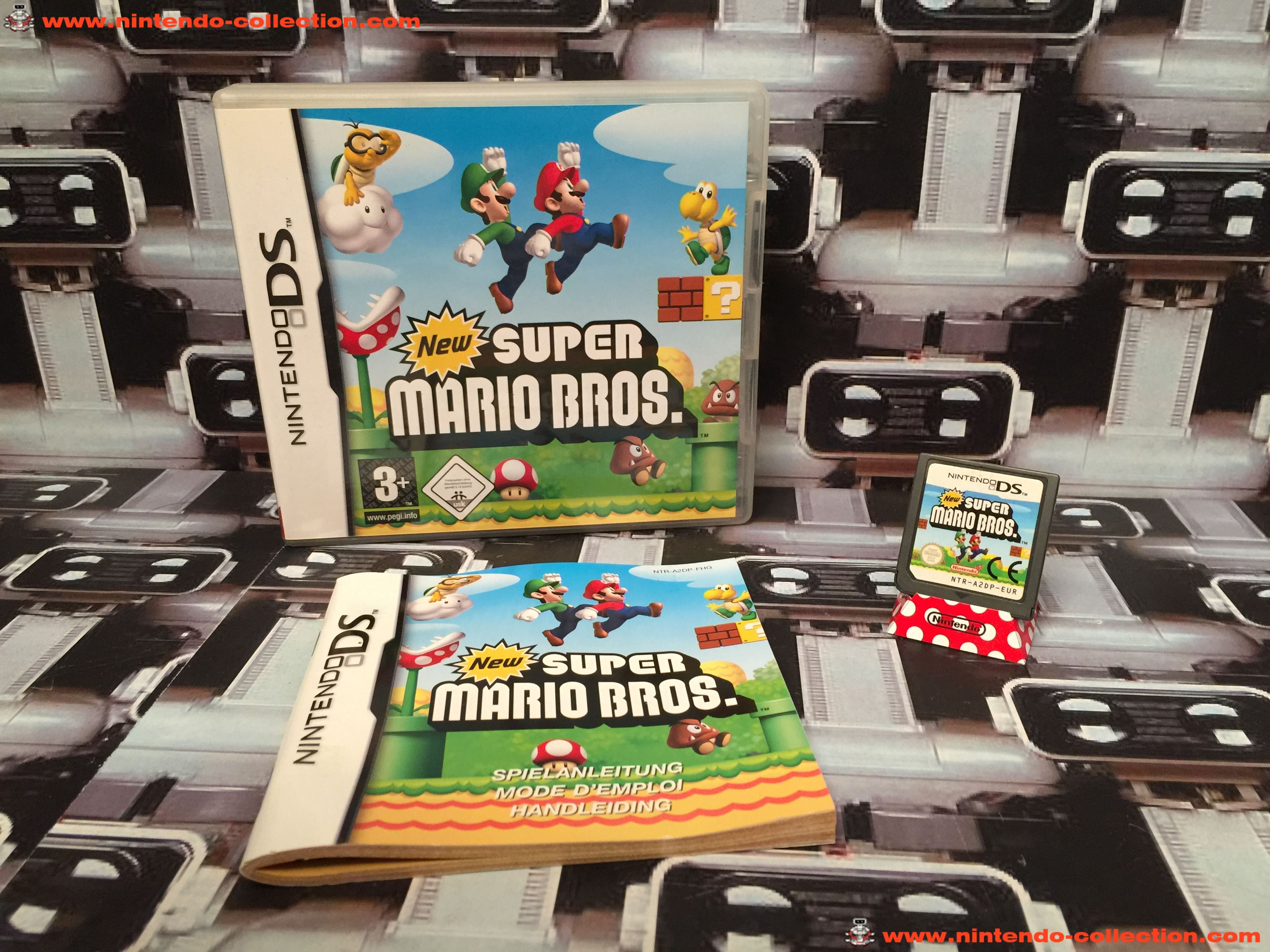 www.nintendo-collection.com - Nintendo DS Jeux Game New Super Mario Bros