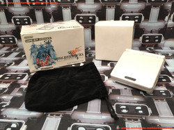 www.nintendo-collection.com - Gameboy Advance GBA SP Final Fantasy Tactics Limited Edition Pearl Whi
