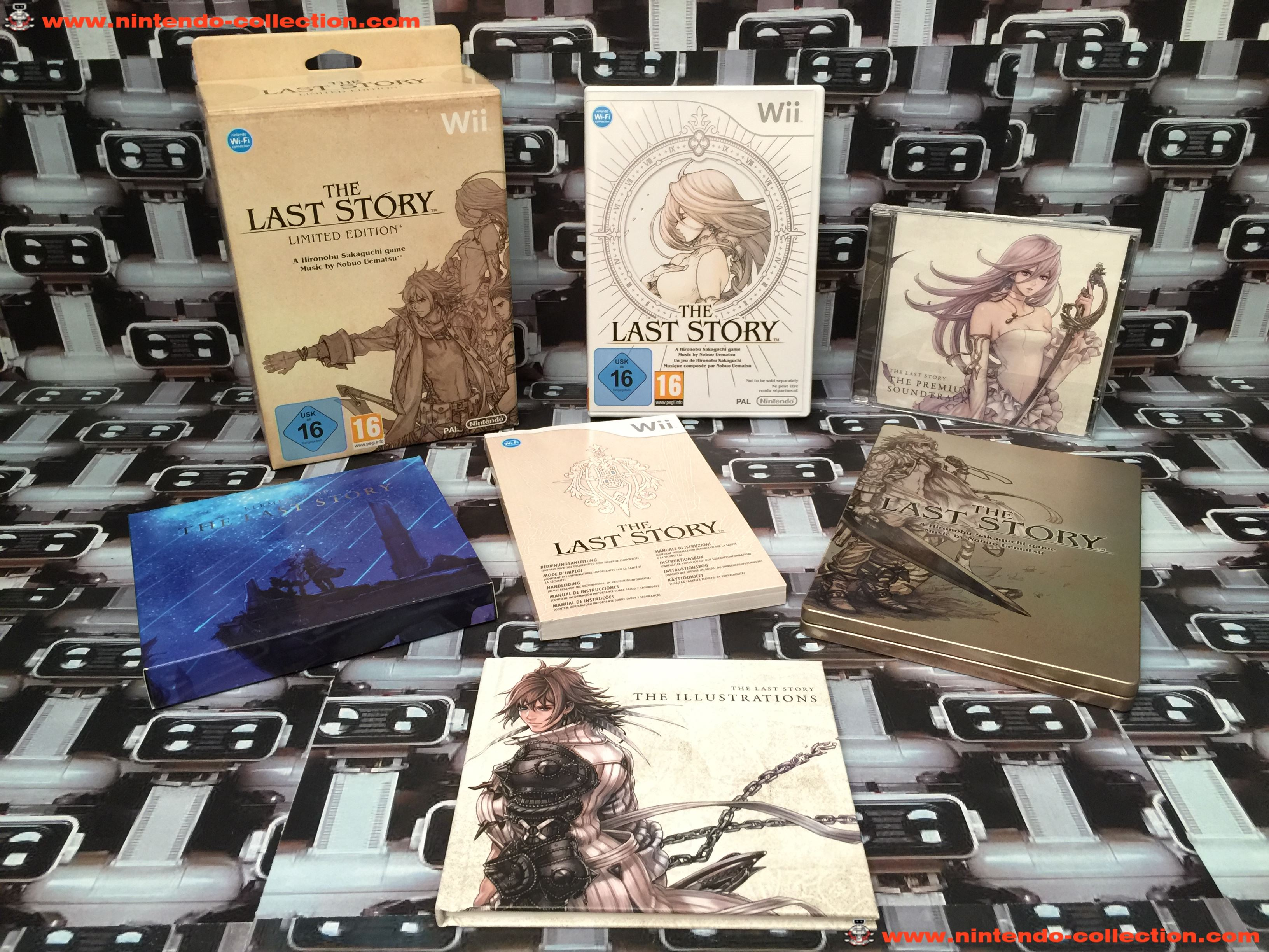 www.nintendo-collection.com - Wii Game Jeu Collector The Last Story