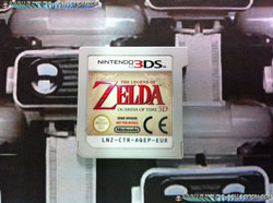 www.Nintendo-Collection.com - Demo 3DS Nintendo Zelda Ocarina of Time 3D Not for Resale