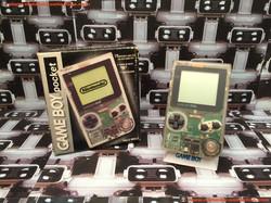 www.nintendo-collection.com - Gameboy GB Pocket Clear Transparente en boite in box European Europe
