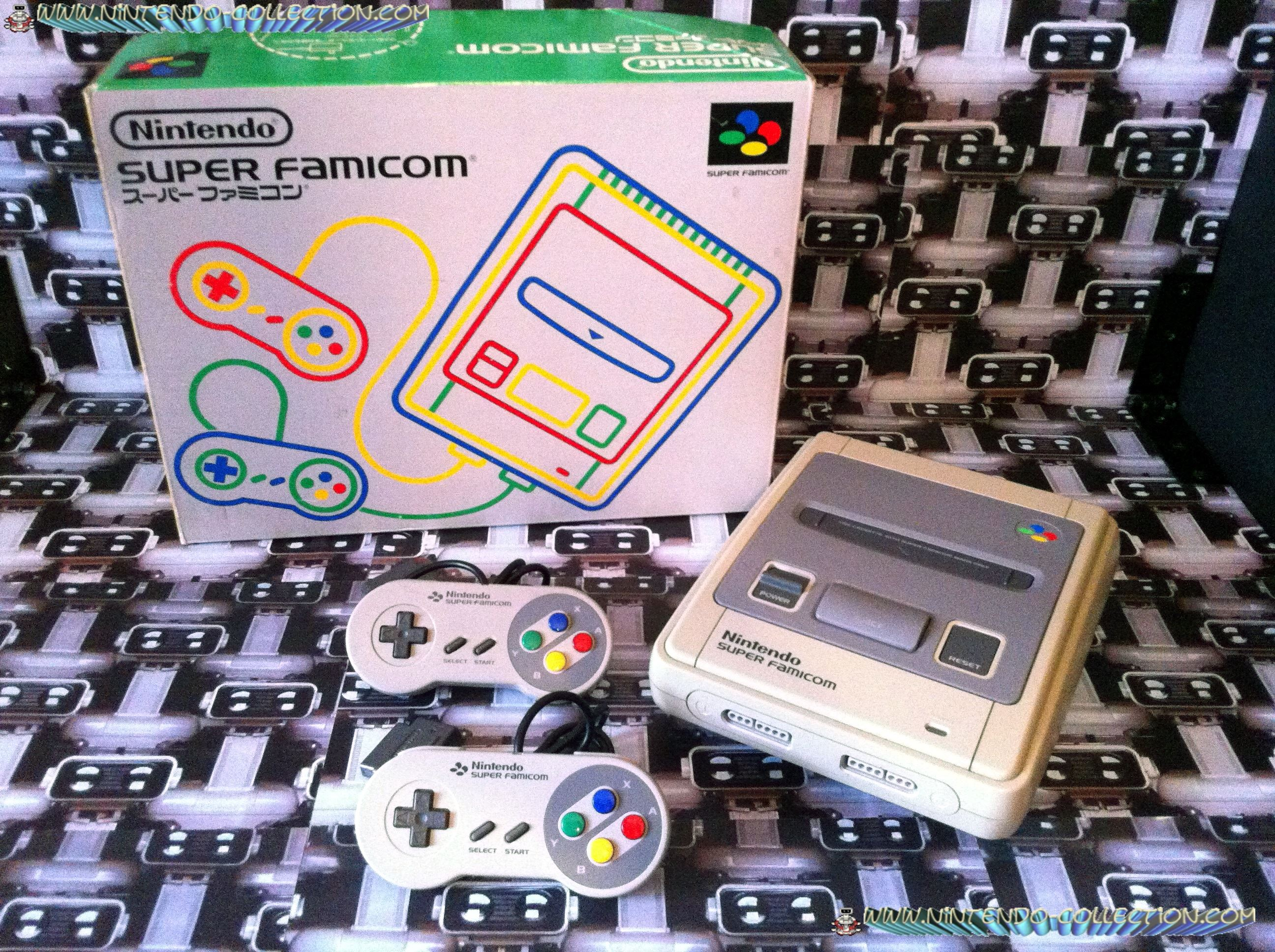 www.nintendo-collection.com - Super Nintendo Super Famicom Super Nes Pack Super Famicom Japon Japon