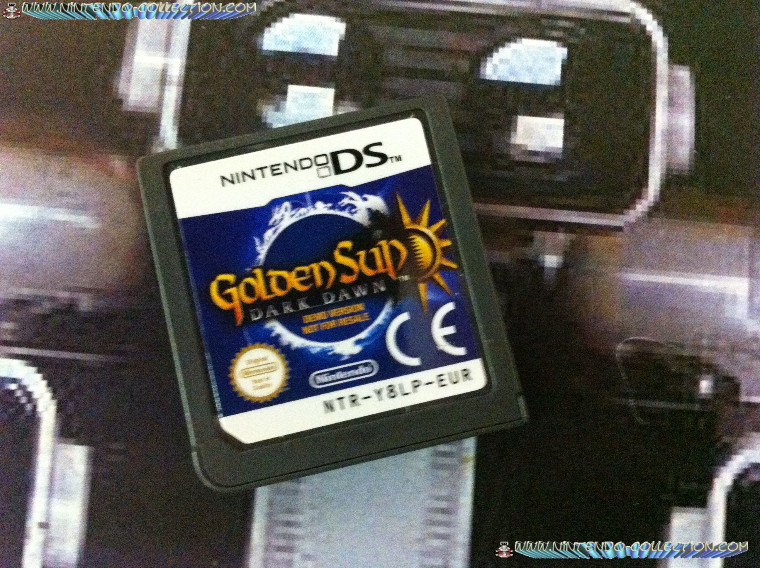 www.nintendo-collection.com - Demo DS 3 DS - Not For Resale - Golden Sun Dark Dawn