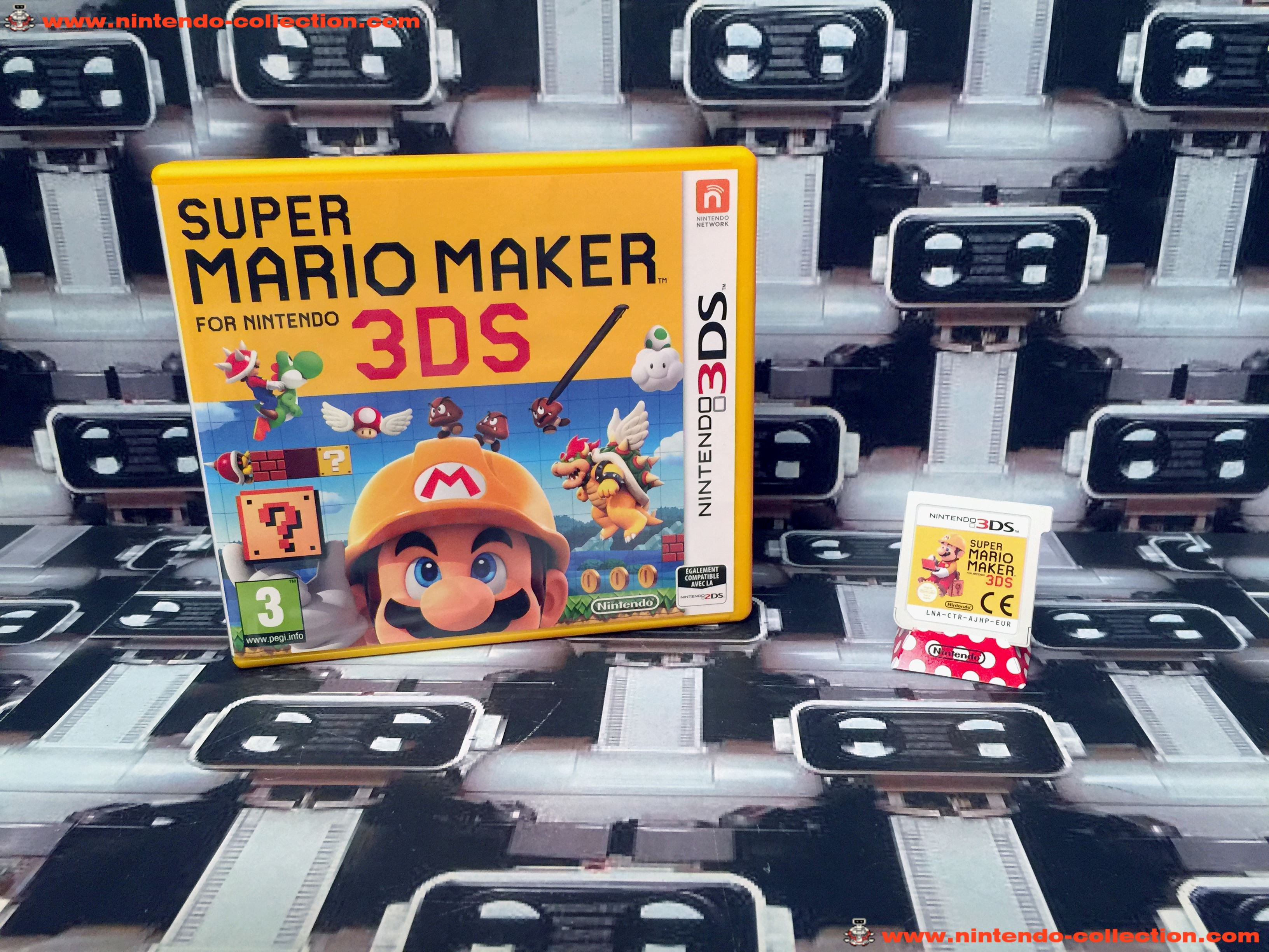www.nintendo-collection.com - Nintendo 3DS Jeux Game Super Mario Maker for Nintendo 3DS