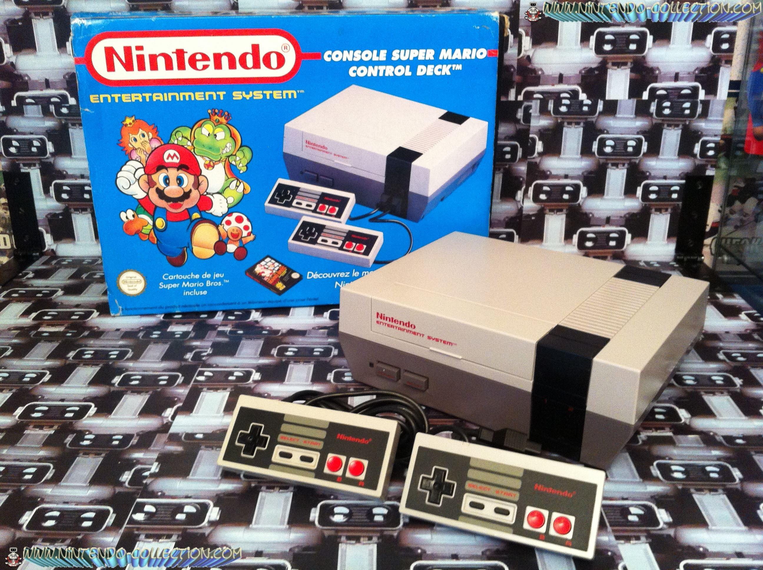 www.nintendo-collection.com - Nintendo NES Super Mario Bros Pack Euro