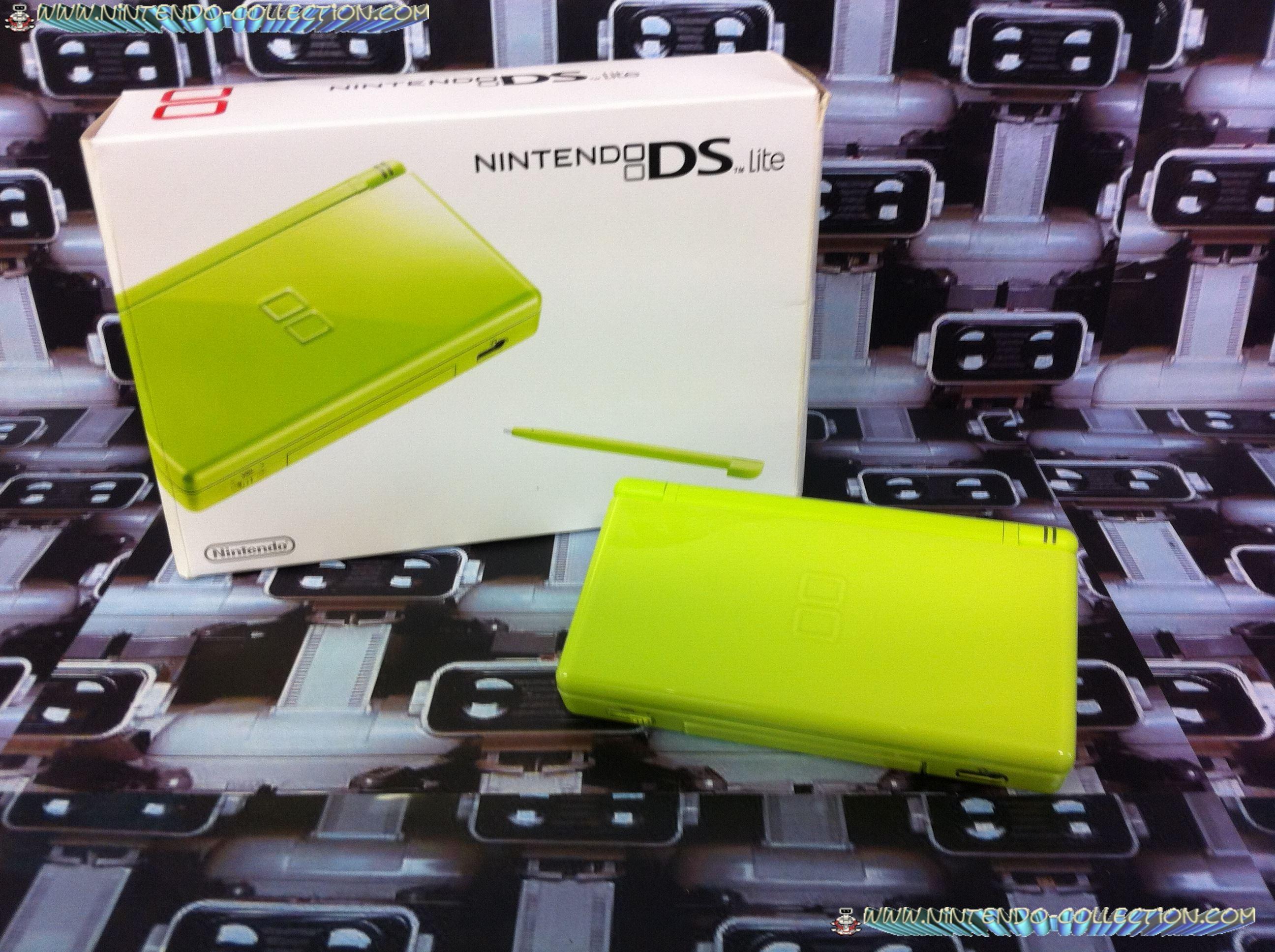 www.nintendo-collection.com - DS Lite KWi Verte Green