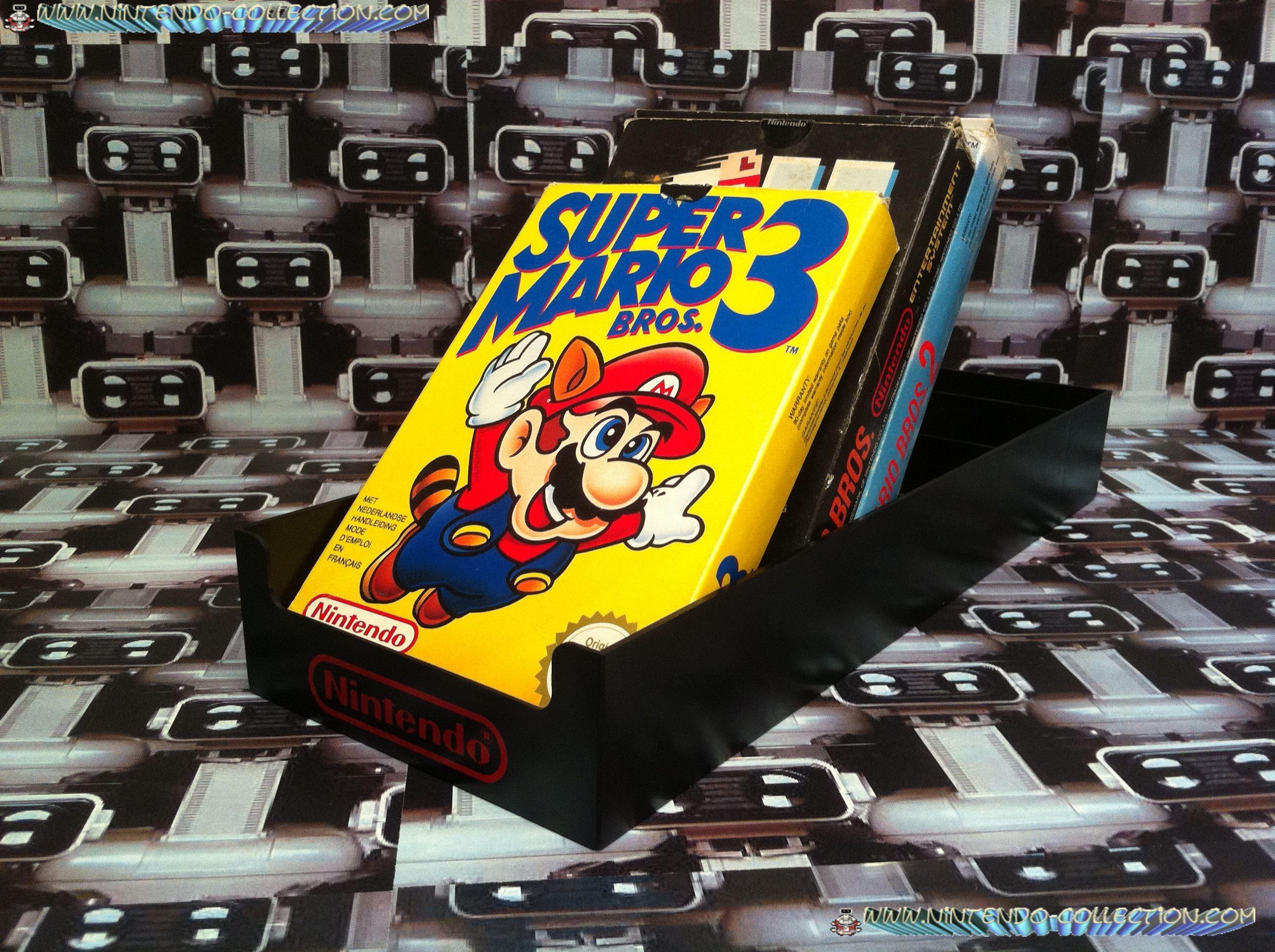 www.nintendo-collection.com - Presentoire jeux NES pour meuble