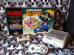 www.nintendo-collection.com - Super Nintendo Super Famicom Super Nes Pack Super Mario All Stars Vert
