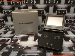 www.nintendo-collection.com - Gameboy Advance GBA SP Black Noir Edition europeenne european - 03