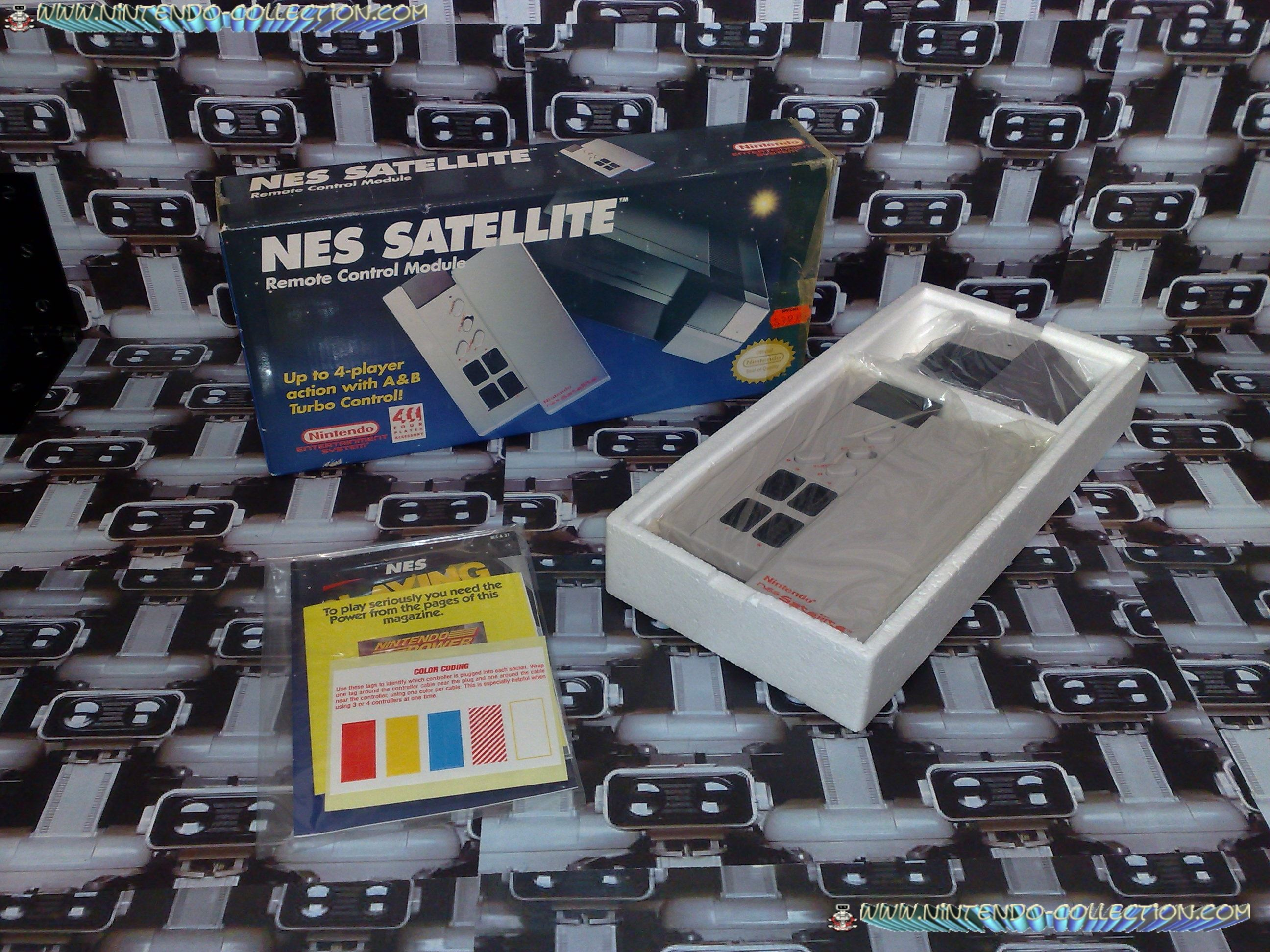 www.nintendo-collection.com - Nintendo NES Satellite - Accessoire en boite US- Accesory in box US