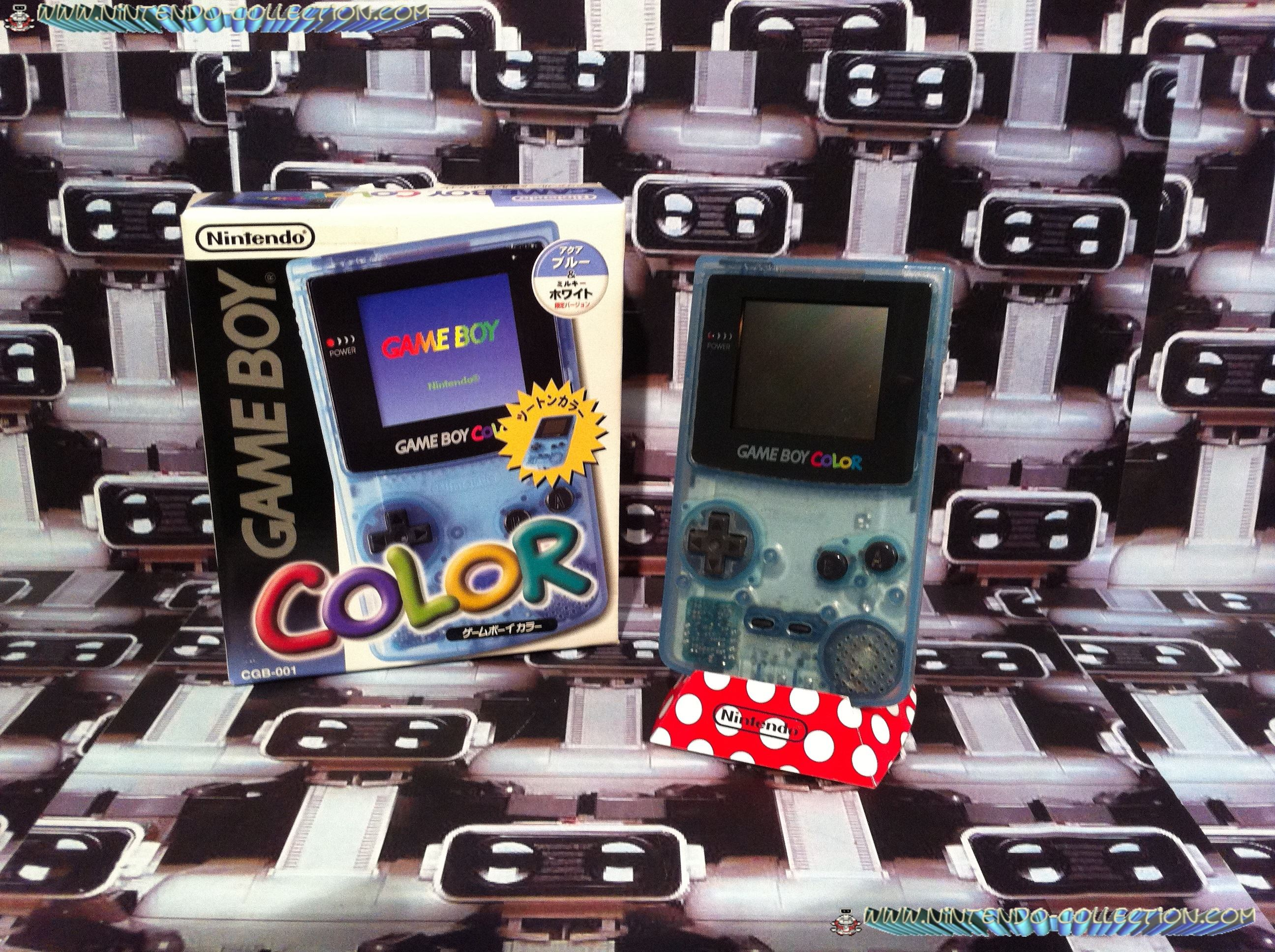 www.nintendo-collection.com - Gameboy Color Lawson edition Japan