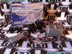 www.nintendo-collection.com - Gameboy Advance SP Accessory Accessoire batterie Baterry european euro