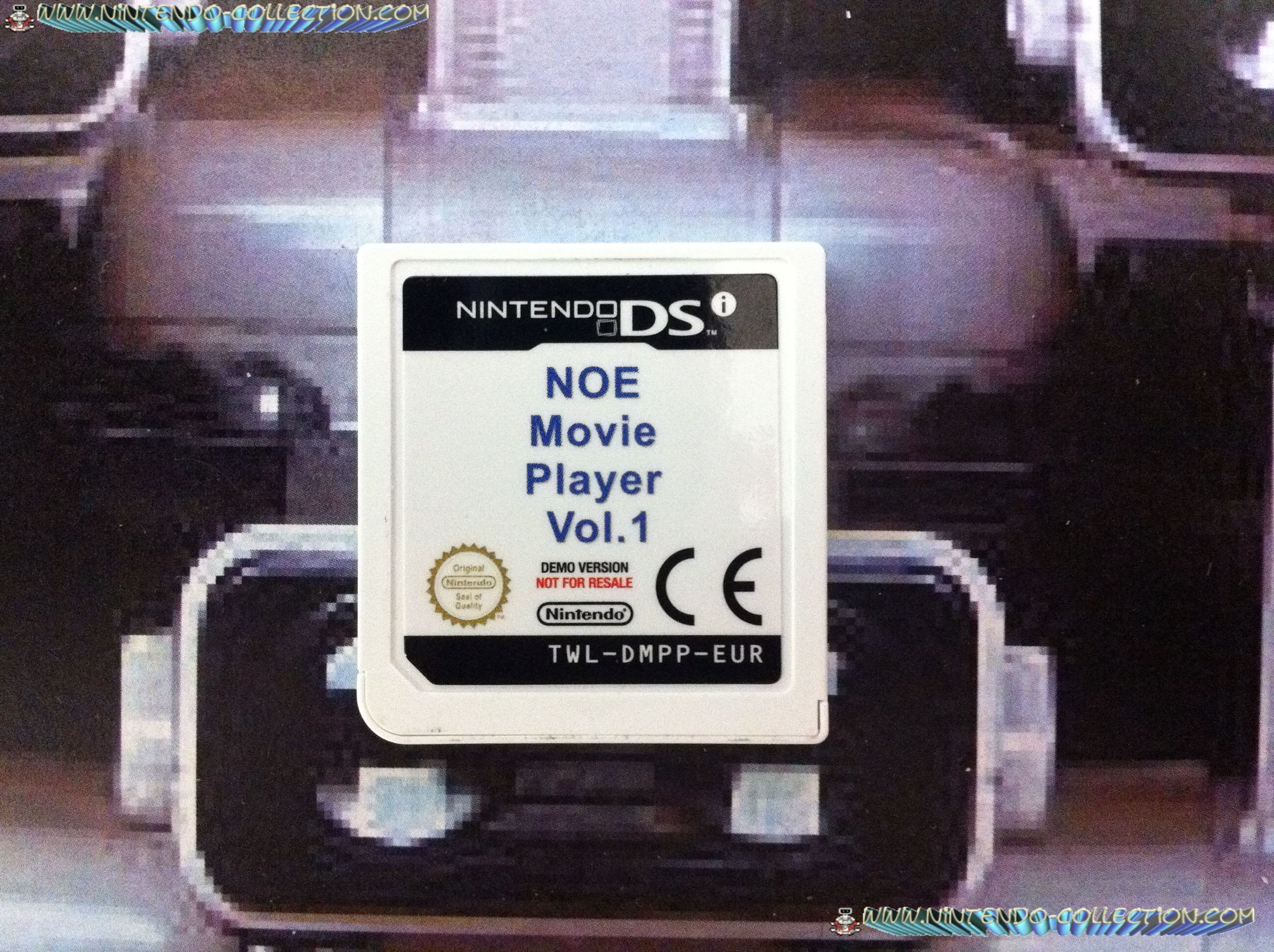 www.nintendo-collection.com - Demo DS 3 DS - Not For Resale - Nintend Of Europe Movie Player Volume