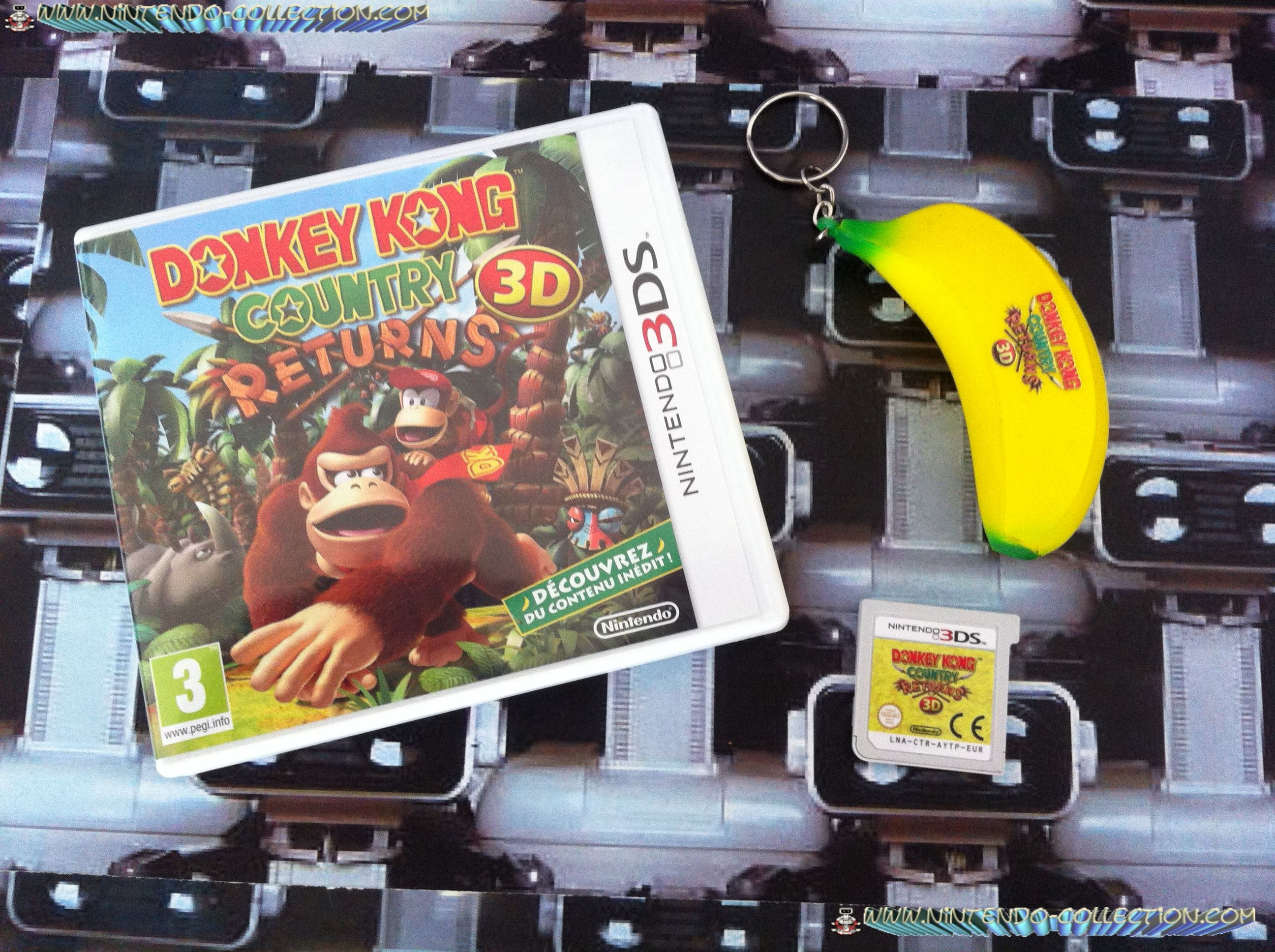 www.nintendo-collection.com - Donkey Kong Country Returns 3D 3DS