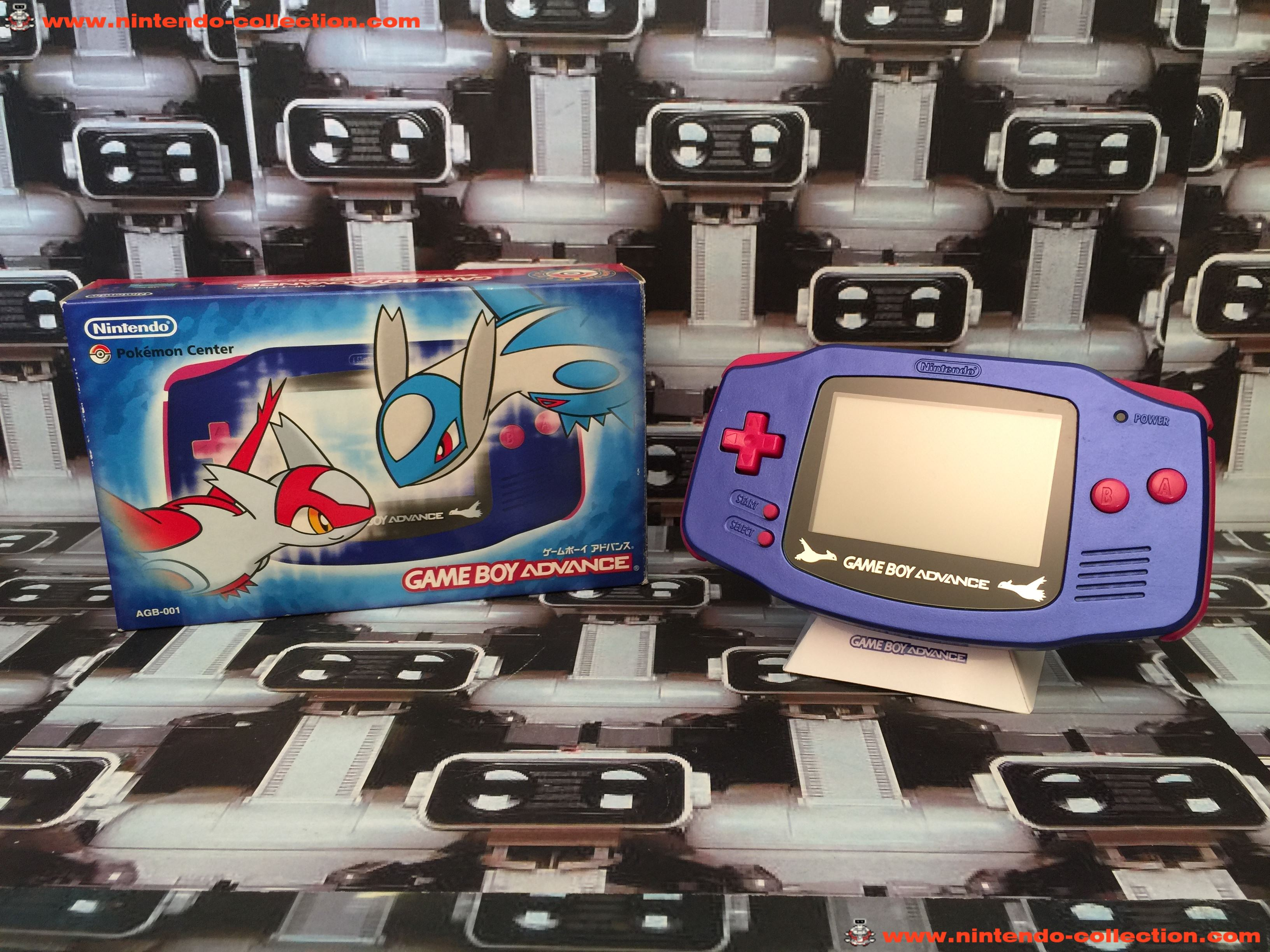 www.nintendo-collection.com - Gameboy Advance GBA Pokemon Center Latios Latias Limited Edition Japan