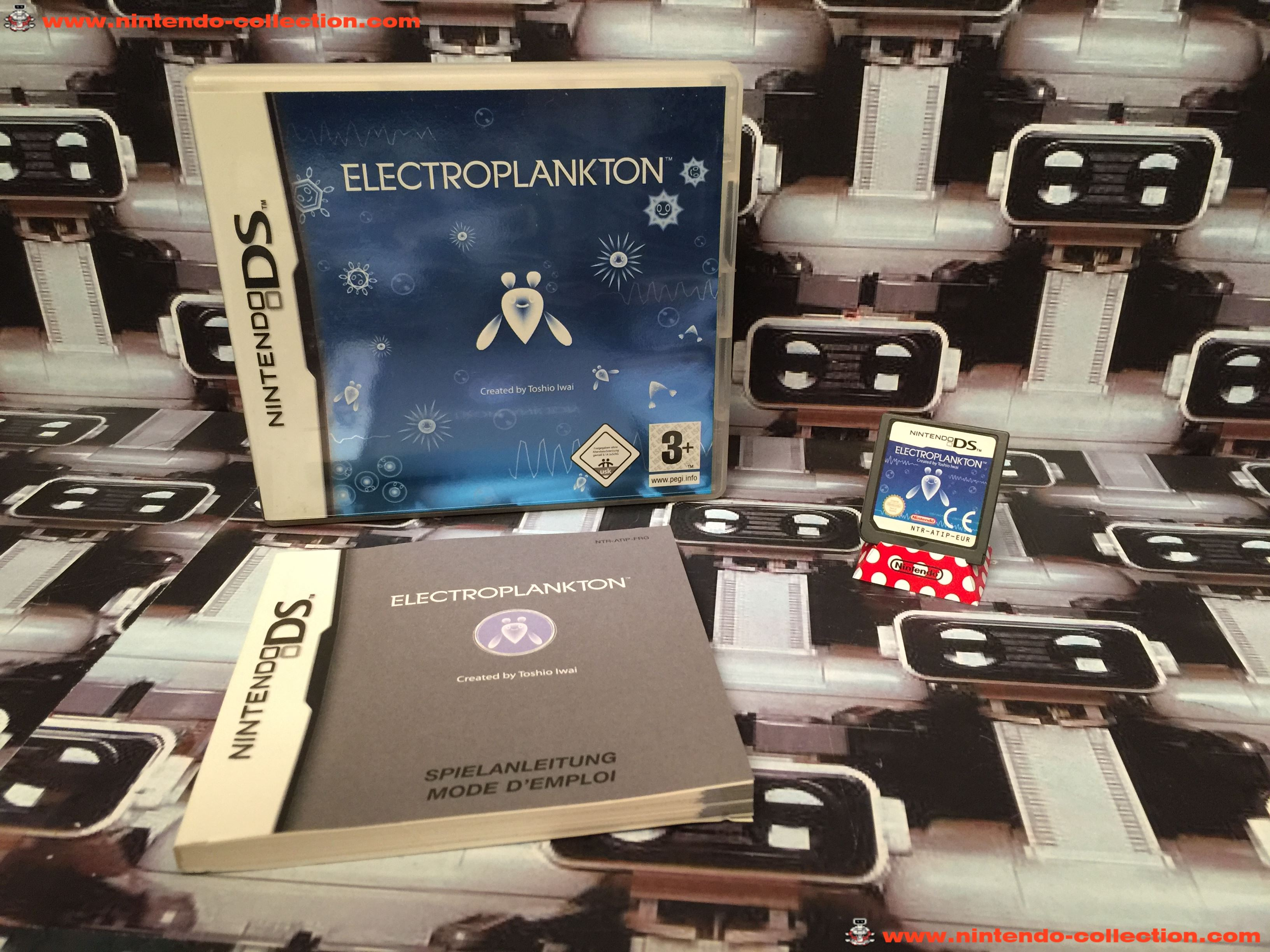 www.nintendo-collection.com - Nintendo DS Jeux Game Electroplankton Euro