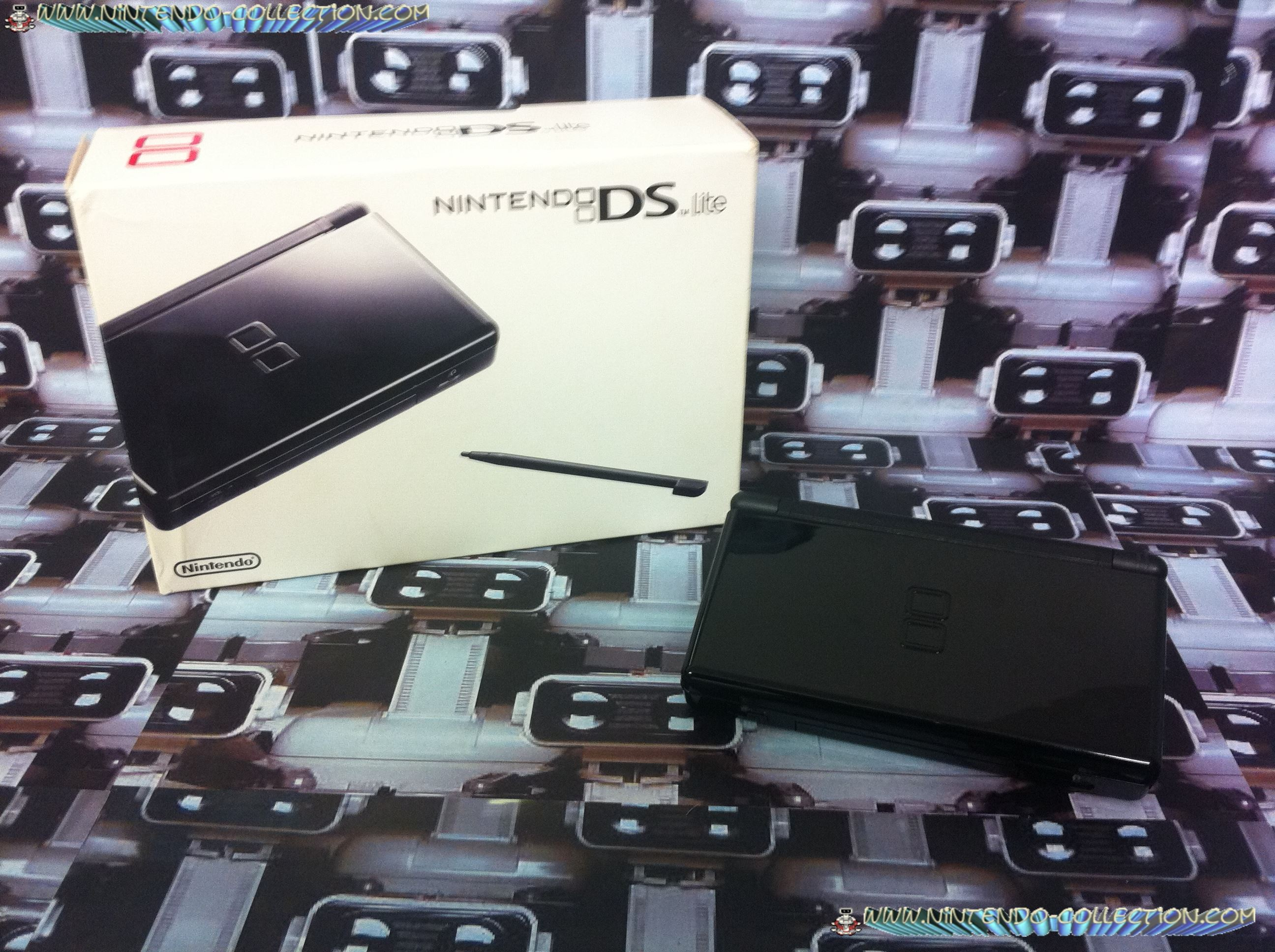 www.nintendo-collection.com -  Nintendo DS Lite Black Noir european version europe