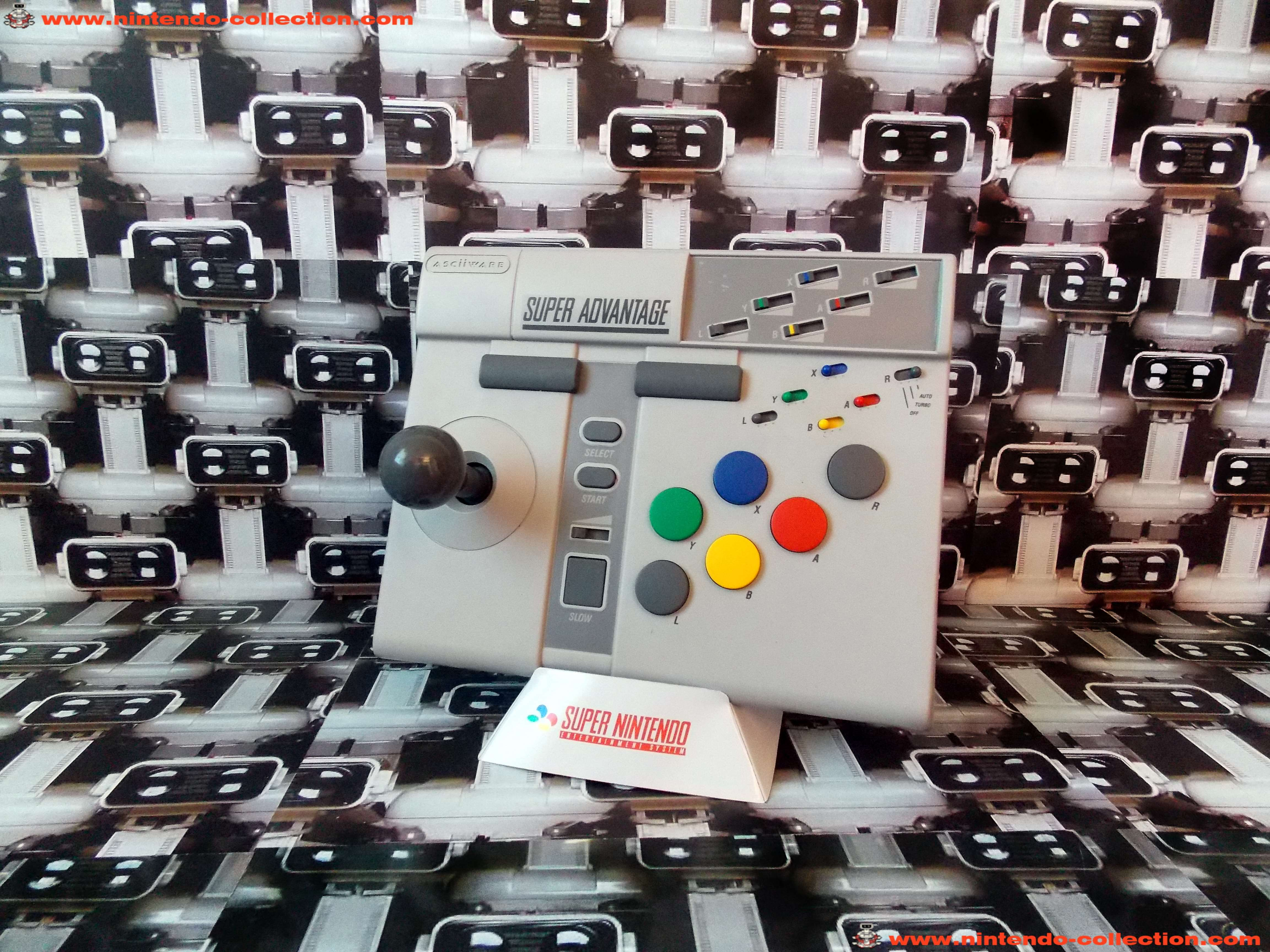 www.nintendo-collection.com - Super Nintendo SNES Super Advantage