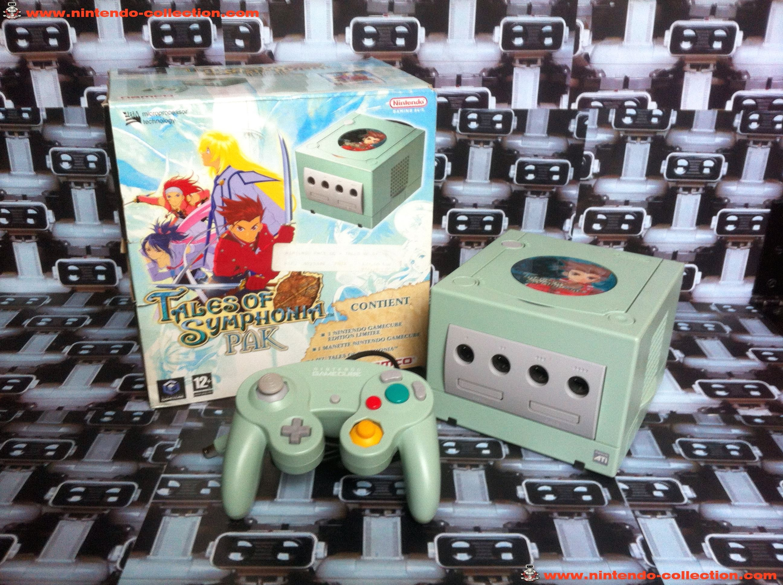 www.nintendo-collection.com - Gamecube Tales of Symphonia Limited Edition European europeenne