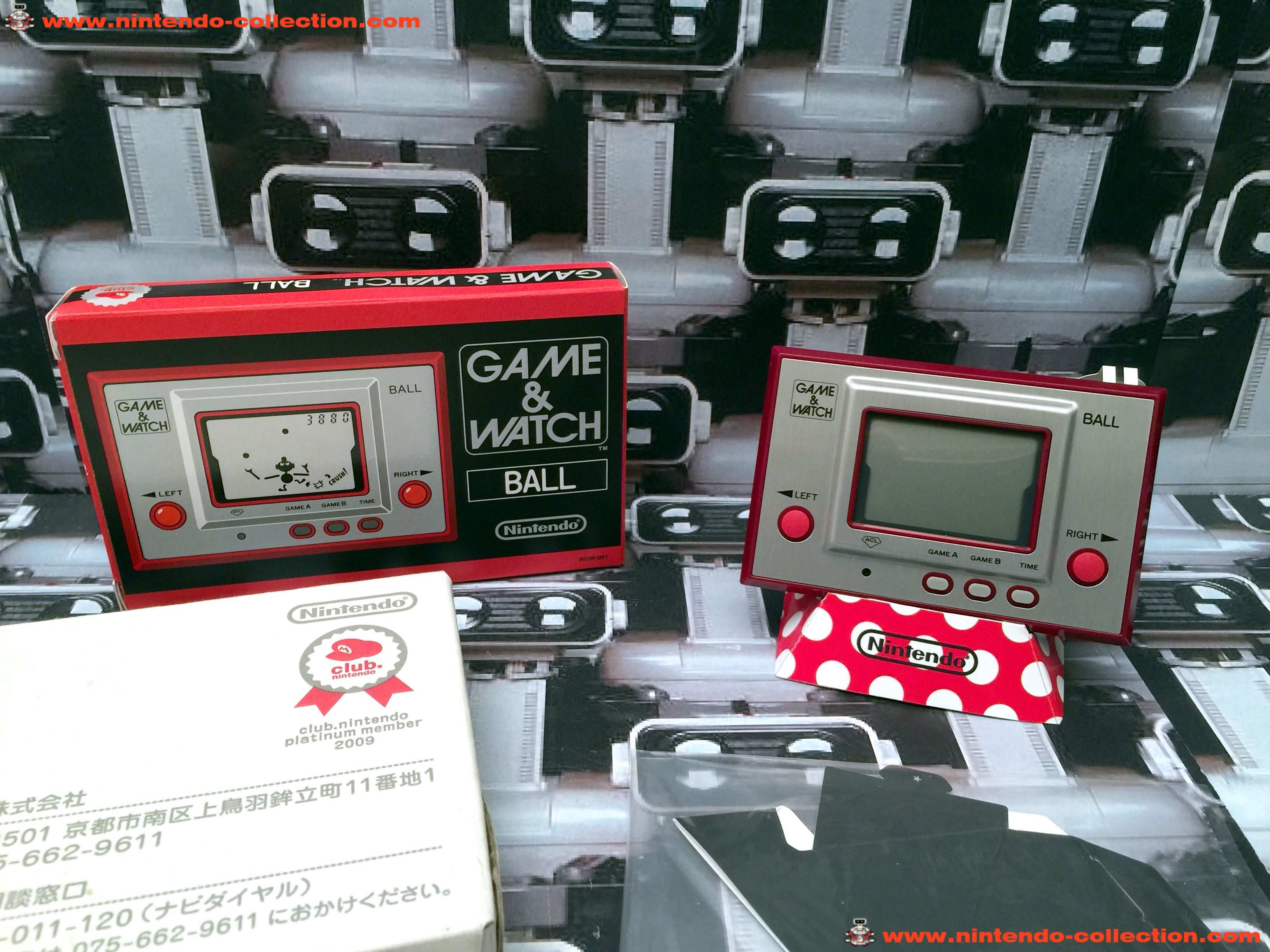 www.nintendo-collection.com - Game & Watch Silver Series Ball Club Nintendo 2009 Japan Japon - 03