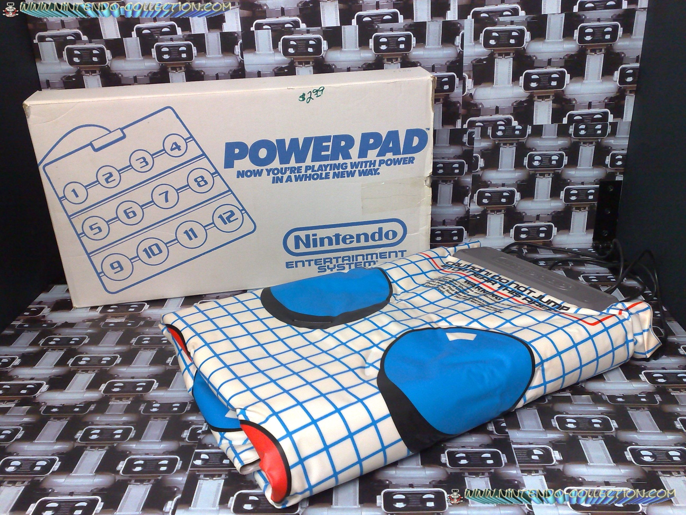 www.nintendo-collection.com - Nintendo NES Power Pad - Accessoire en boite issue des pac Power Set-