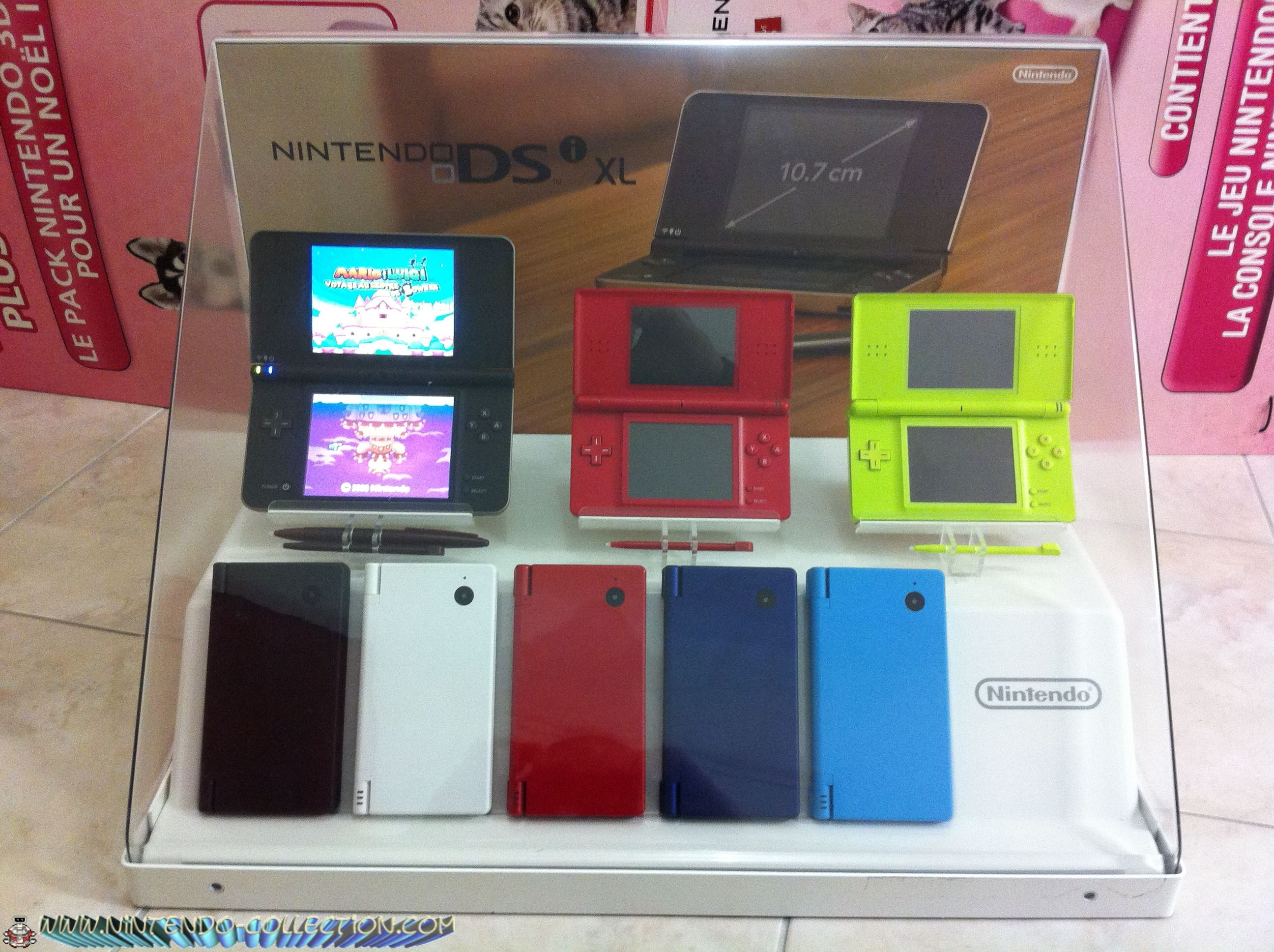 www.nintendo-collection.com - Vitrine Nintendo  DSi - 1