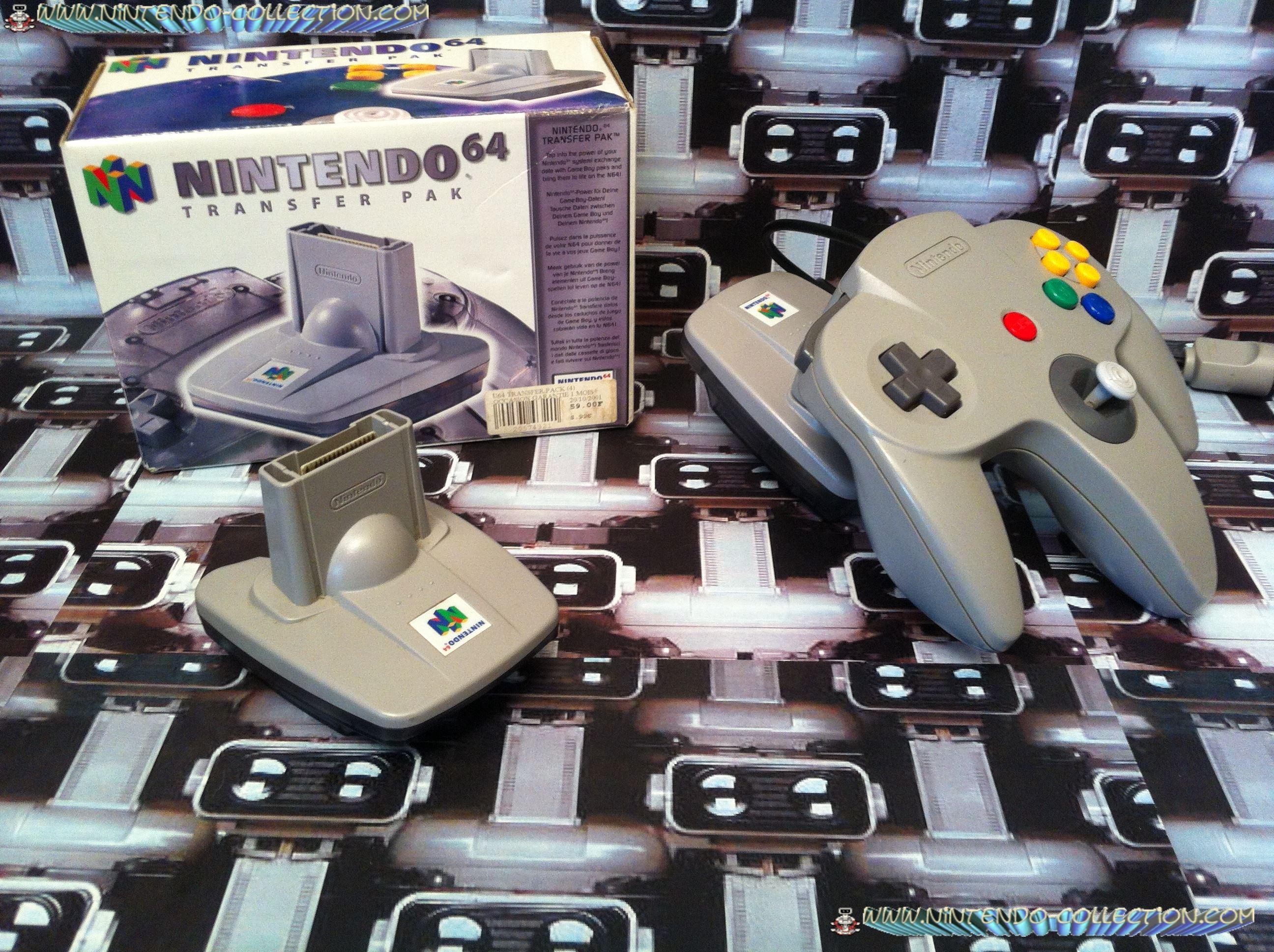 www.nintendo-collection.com - Nintendo 64 N64 Accessory - Accessoire - Transfert Pak