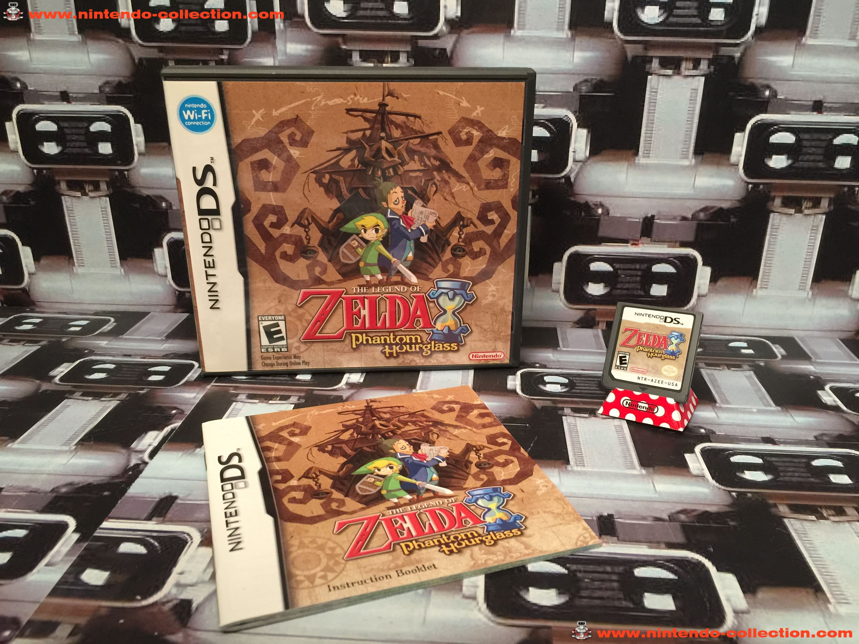 www.nintendo-collection.com - Nintendo DS Jeux Game The Legende of Zelda Phantom Hourglass US