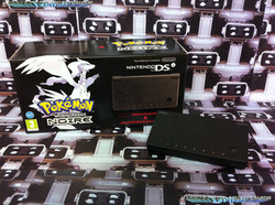 www.nintendo-collection.com - Nintendo DSi version Reshiram Zekrom Pokemon black noir