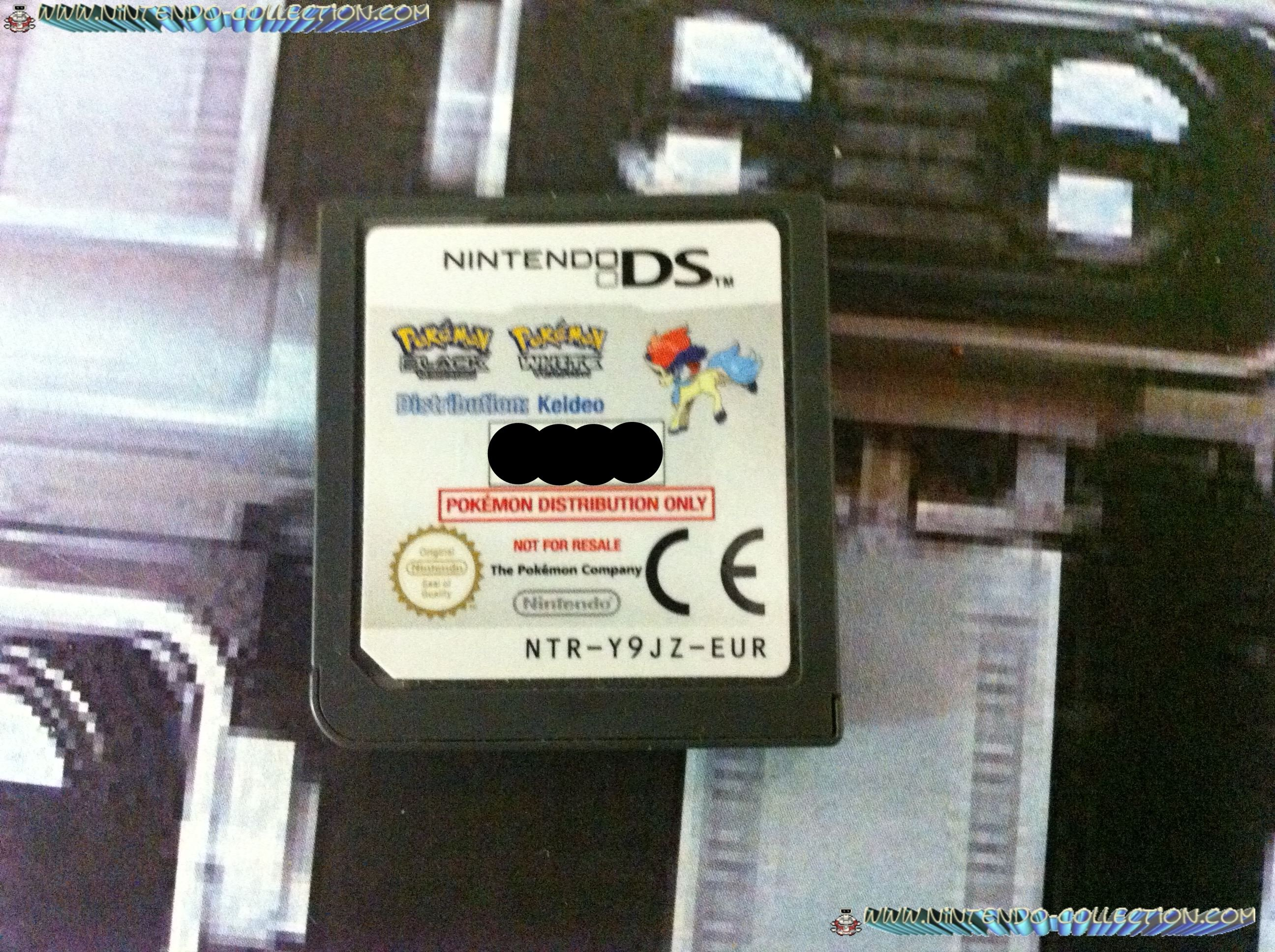 www.nintendo-collection.com - Demo DS 3DS - Not For Resale - Europe Keldeo Pokemon Distribution