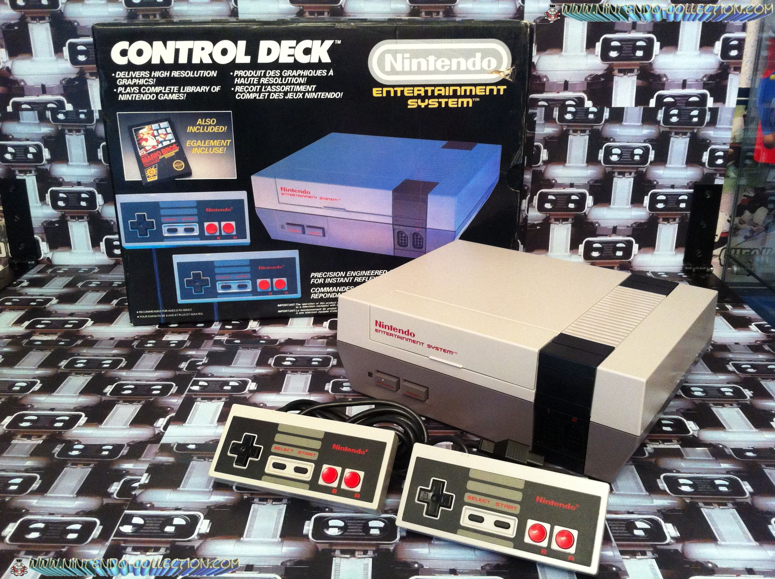 www.nintendo-collection.com - Nintendo NES Control Deck Euro Version 1