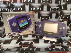 www.nintendo-collection.com - Gameboy Advance GBA Purple Violet Transparent european europeenne