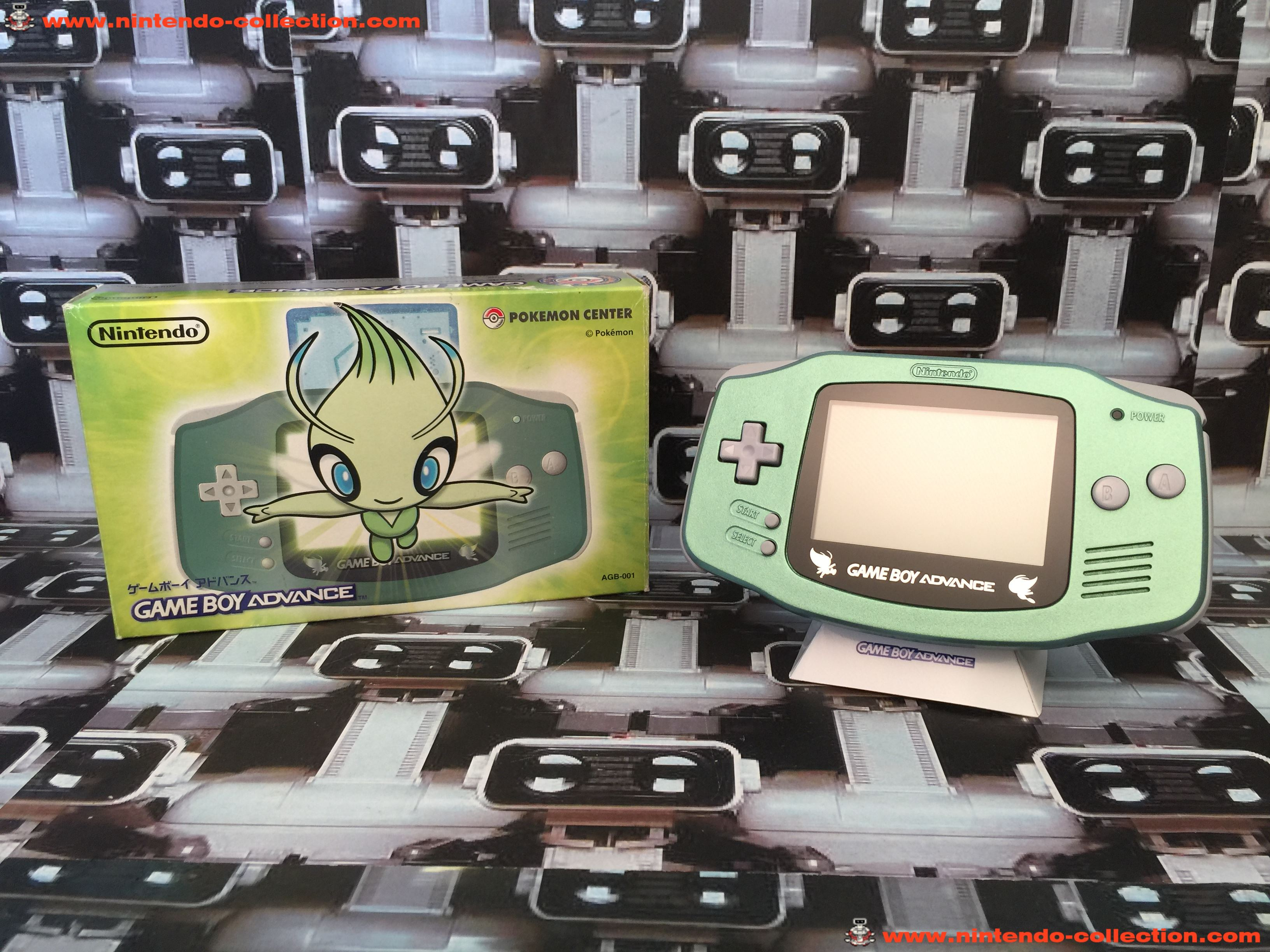 www.nintendo-collection.com - Gameboy Advance GBA Pokemon Center Celebi Serebii Limited Edition Japa