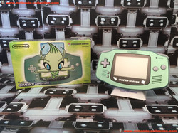 www.nintendo-collection.com - Gameboy Advance GBA Pokemon Center Celebi Serebii Limited Edition Japa