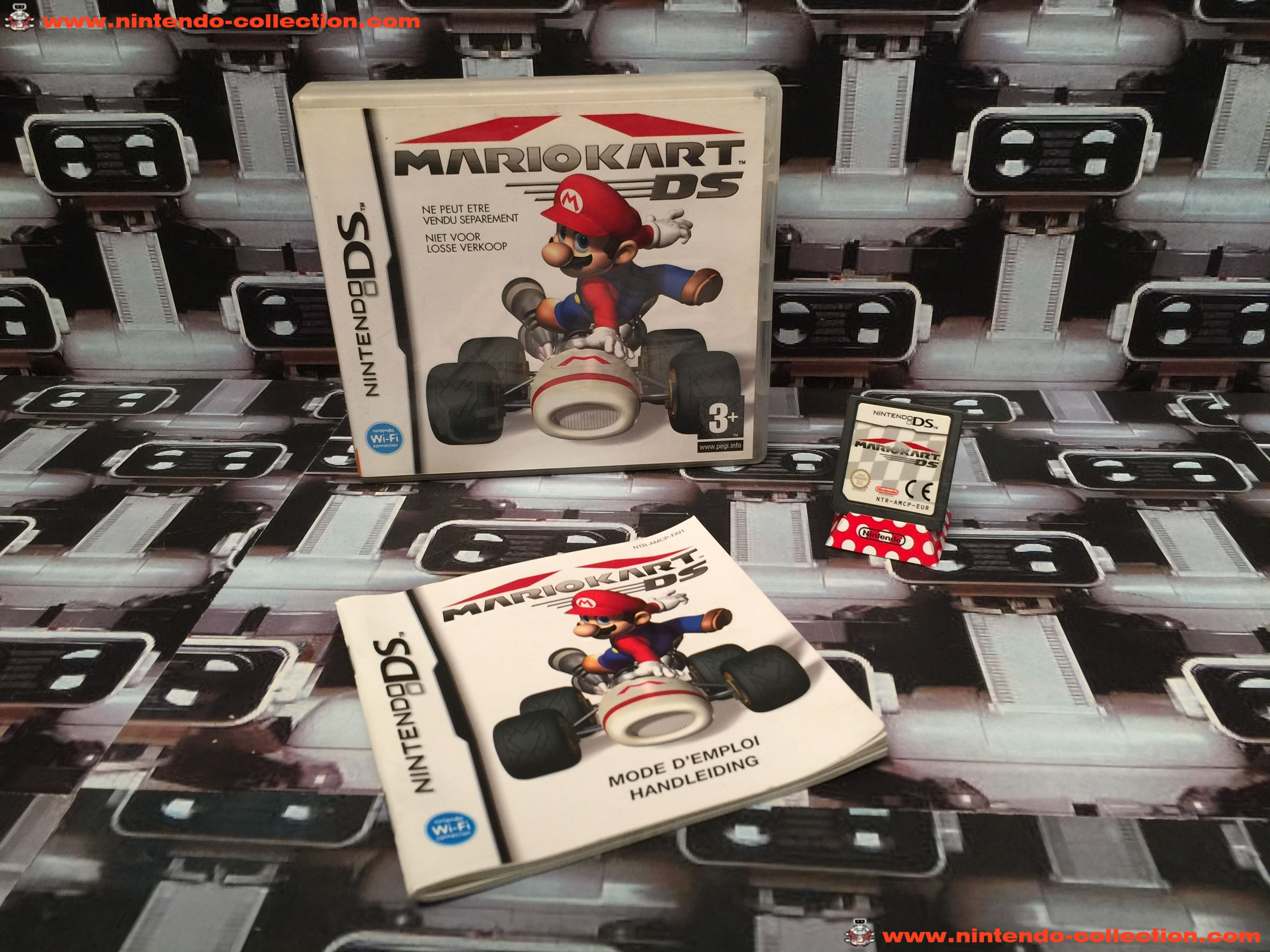 www.nintendo-collection.com - Nintendo DS Jeux Game Mario Kart DS Euro