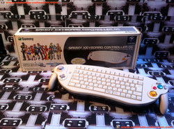 www.nintendo-collection.com - Gamecube controller Sammy keyboard Clavier