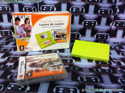 www.nintendo-collection.com - DS Lite Kiwi Verte Green Pack Lecon de cuisine
