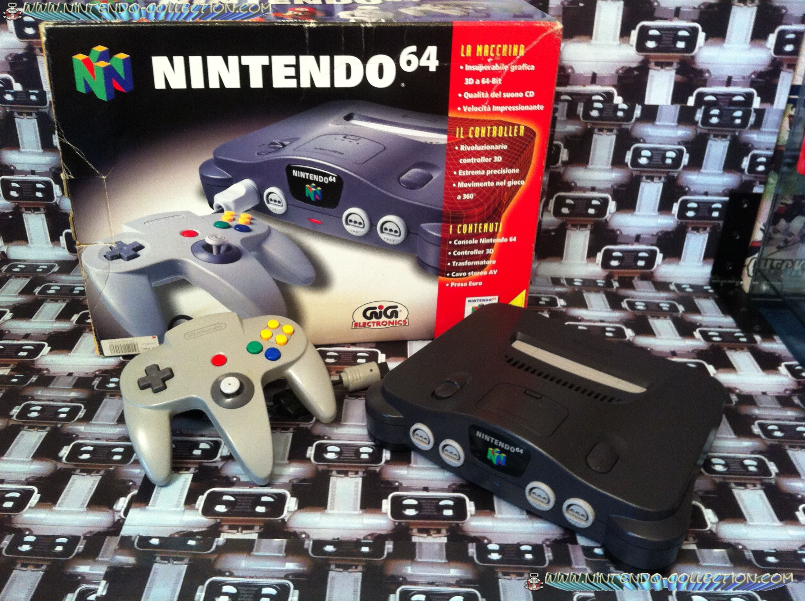 www.nintendo-collection.com - Nintendo 64 N64 GIG version