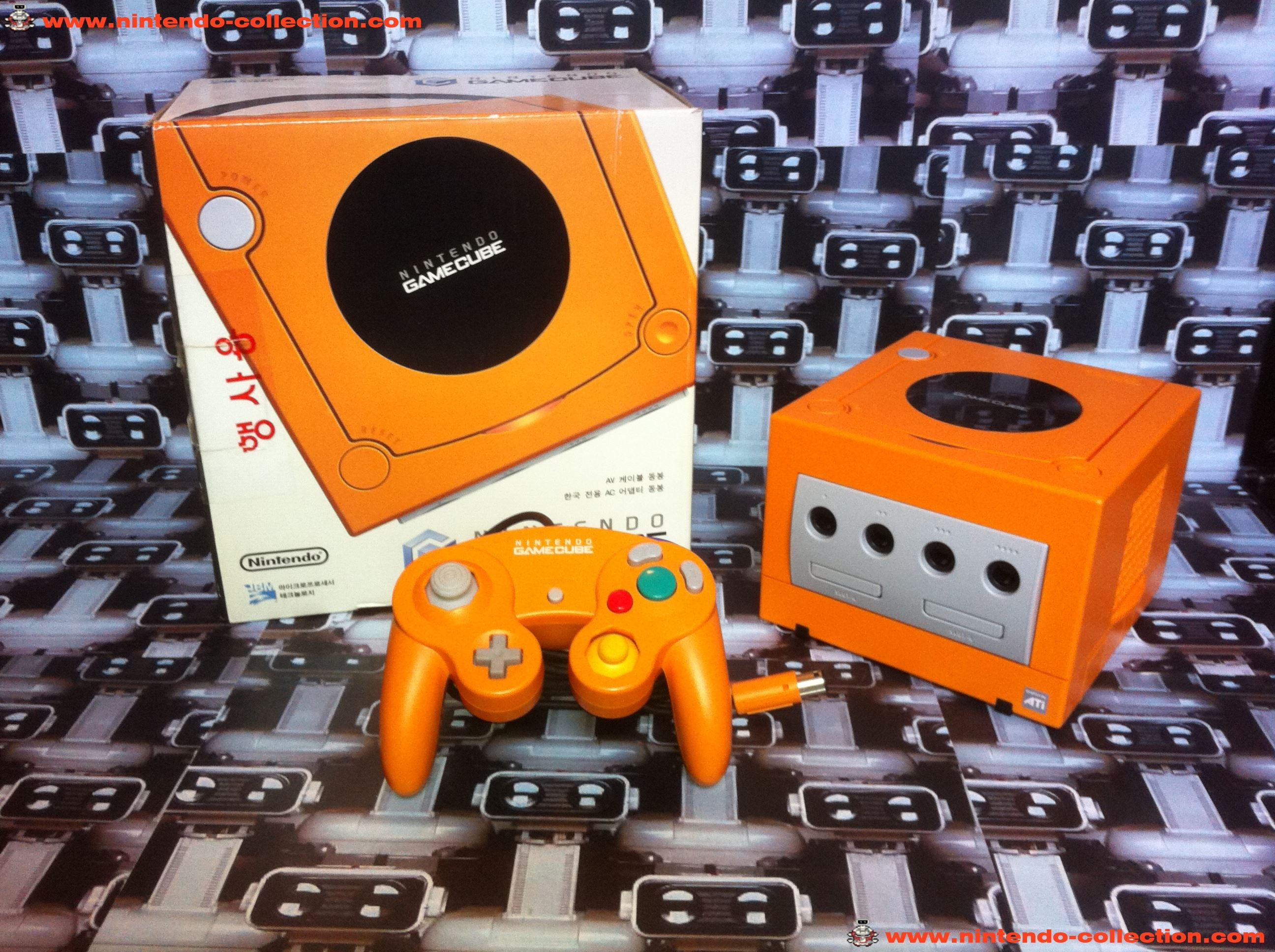 www.nintendo-collection.com - Gamecube Spice Orange Edition Korean Coreenne