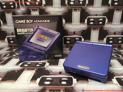 www.nintendo-collection.com - Gameboy Advance GBA SP Blue Bleu edition Singapour Singapore - 01
