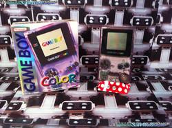 www.nintendo-collection.com - Gameboy Color violette transparente Clear Purpple edition european eur