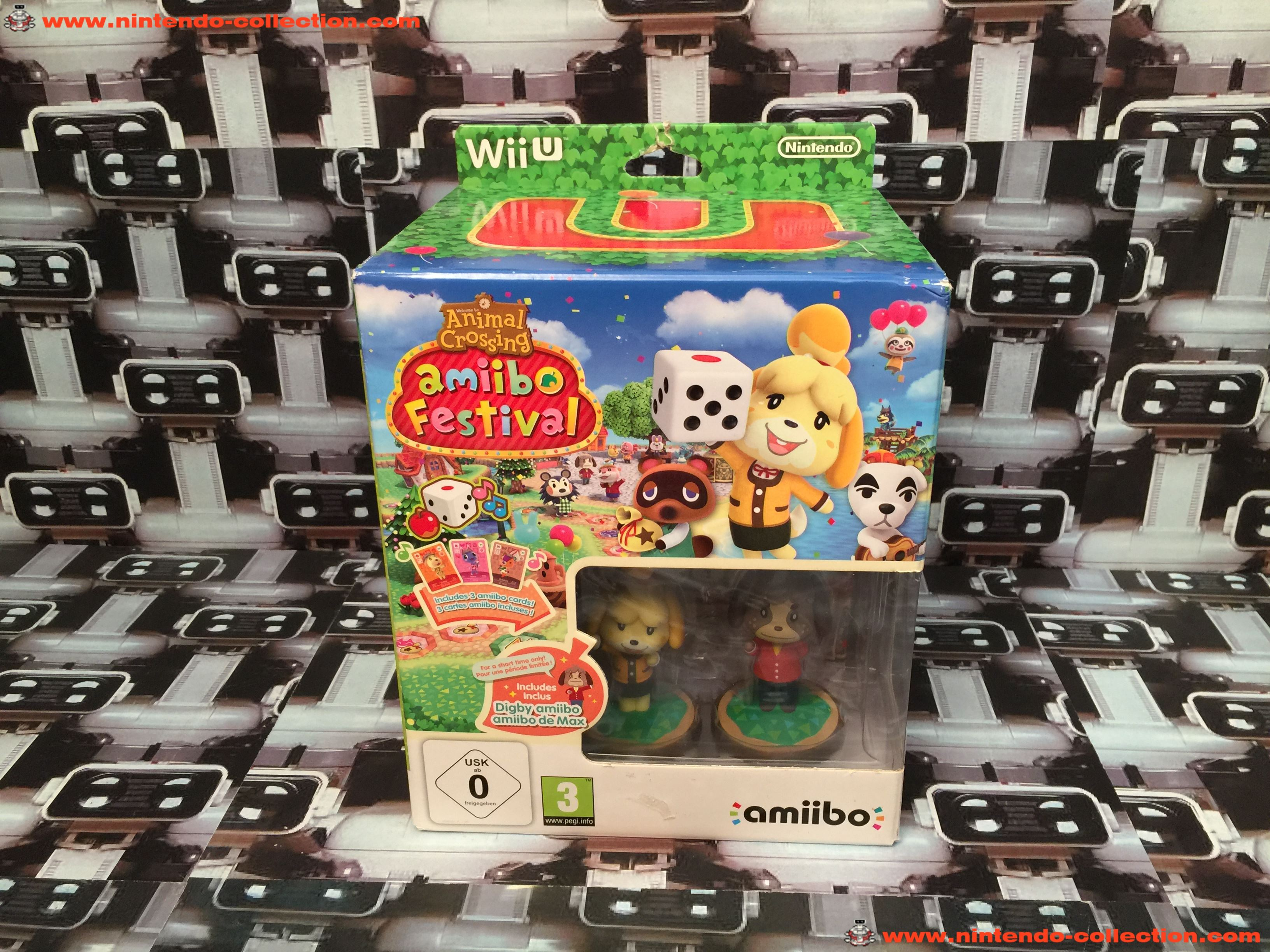 www.nintendo-collection.com - Wii U Game Jeu Collector Animal Crossing Amiibo Festival - 02