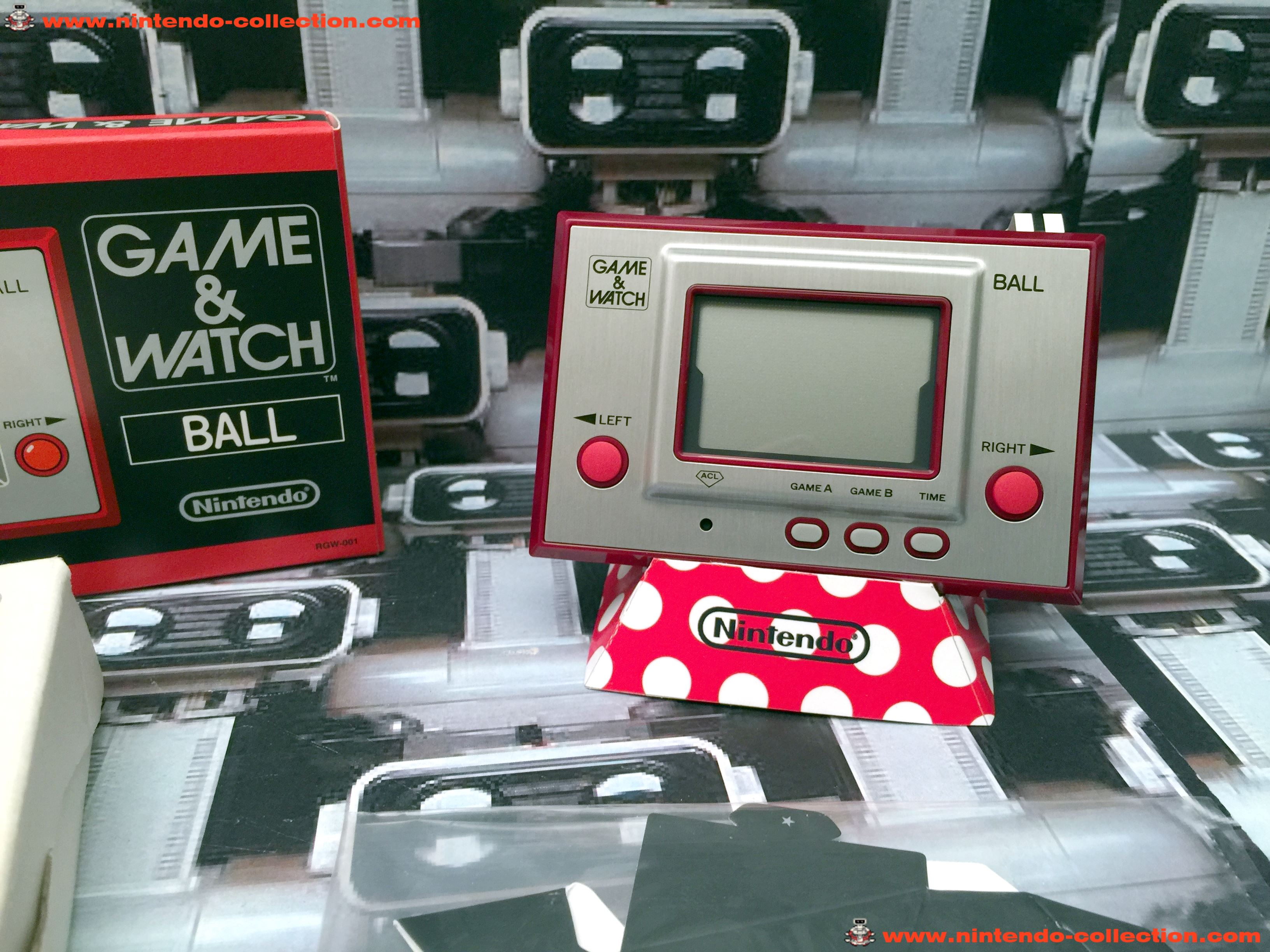 www.nintendo-collection.com - Game & Watch Silver Series Ball Club Nintendo 2009 Japan Japon - 02