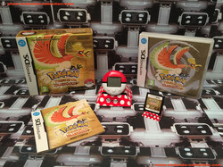 www.nintendo-collection.com - Nintendo DS Jeux Game Pokemon Version Gold Or Pokewalker Euro Fr