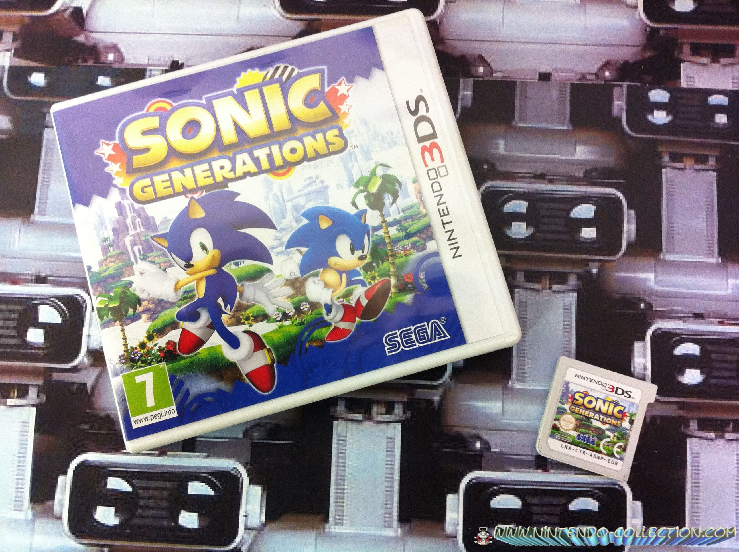 www.nintendo-collection.com - Sonic Generation 3DS
